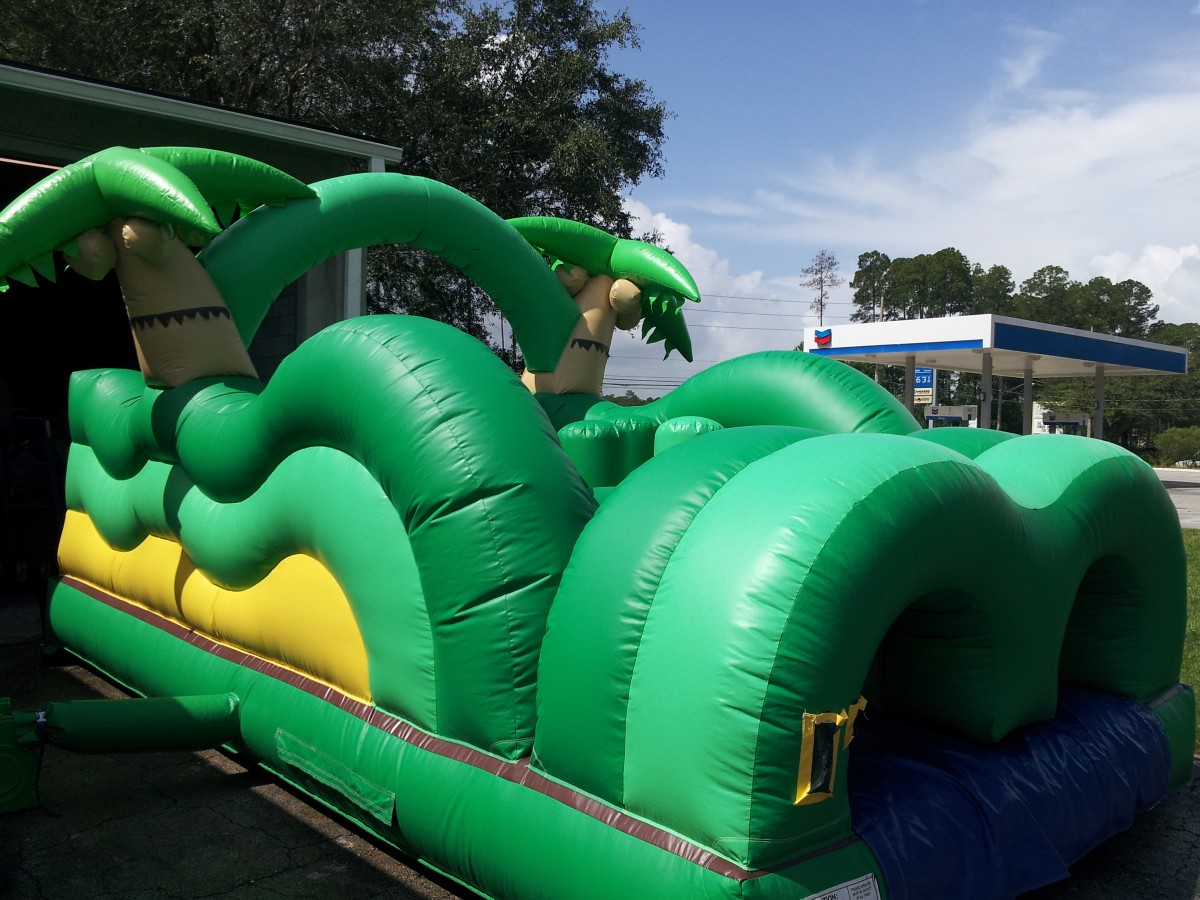 Tropical Island Toddler Obstacle Bounce House Hopper image - Jacksonville, FL