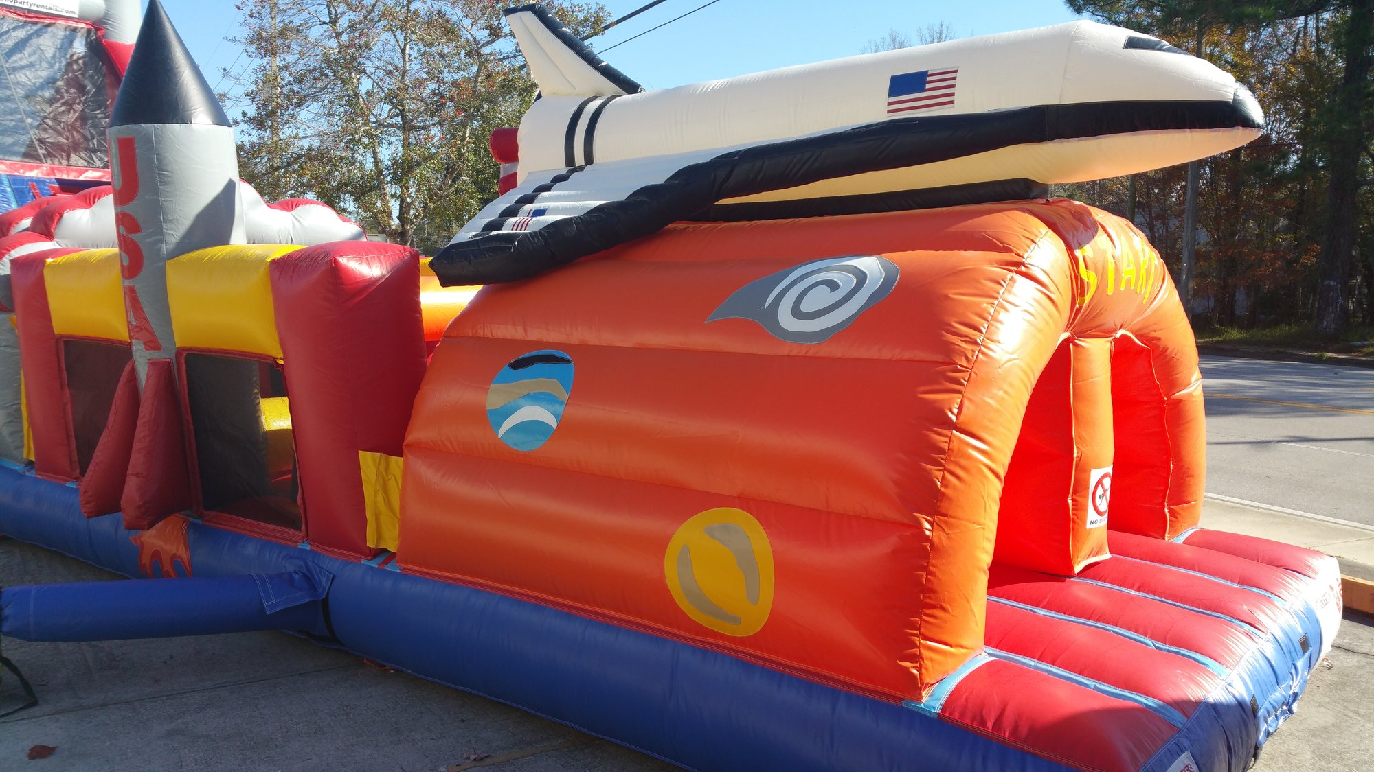 USA Toddler Obstacle Bounce House Hopper  image - Jacksonville, FL