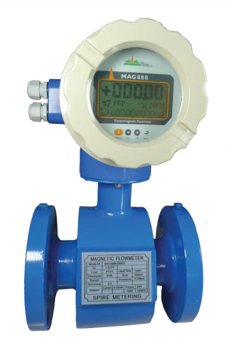 Water Flow Meter : Magnetic flow meters liquid meter totalizer