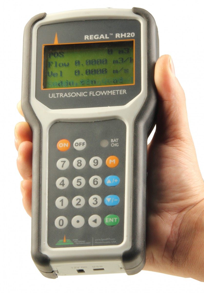 Portable Flow Meter Transit Time Flow Meter