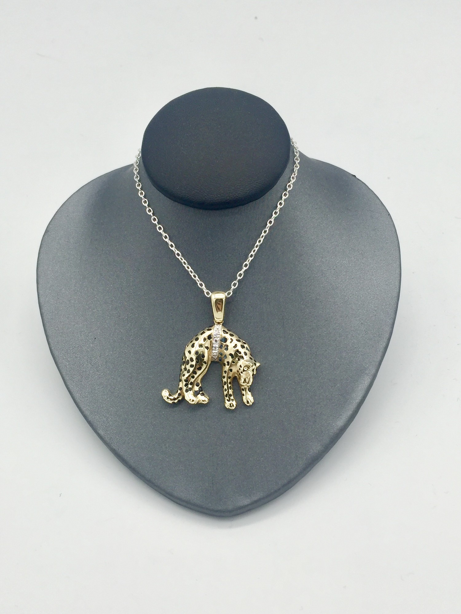 14KT YELLOW GOLD<br /> WEIGHT 3.9 DWT<br /> CHAIN NOT INCLUDED<br /> <br /> <br /> <br /> <br /> 14KT CAT PEND NO CHAIN, YELLOW, Size: LAH