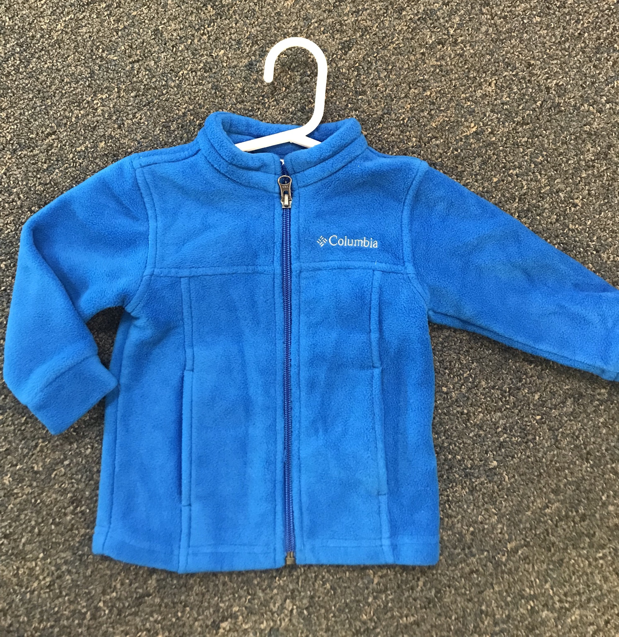 Columbia LS Fleece Jacket w/zipper, excellent condition