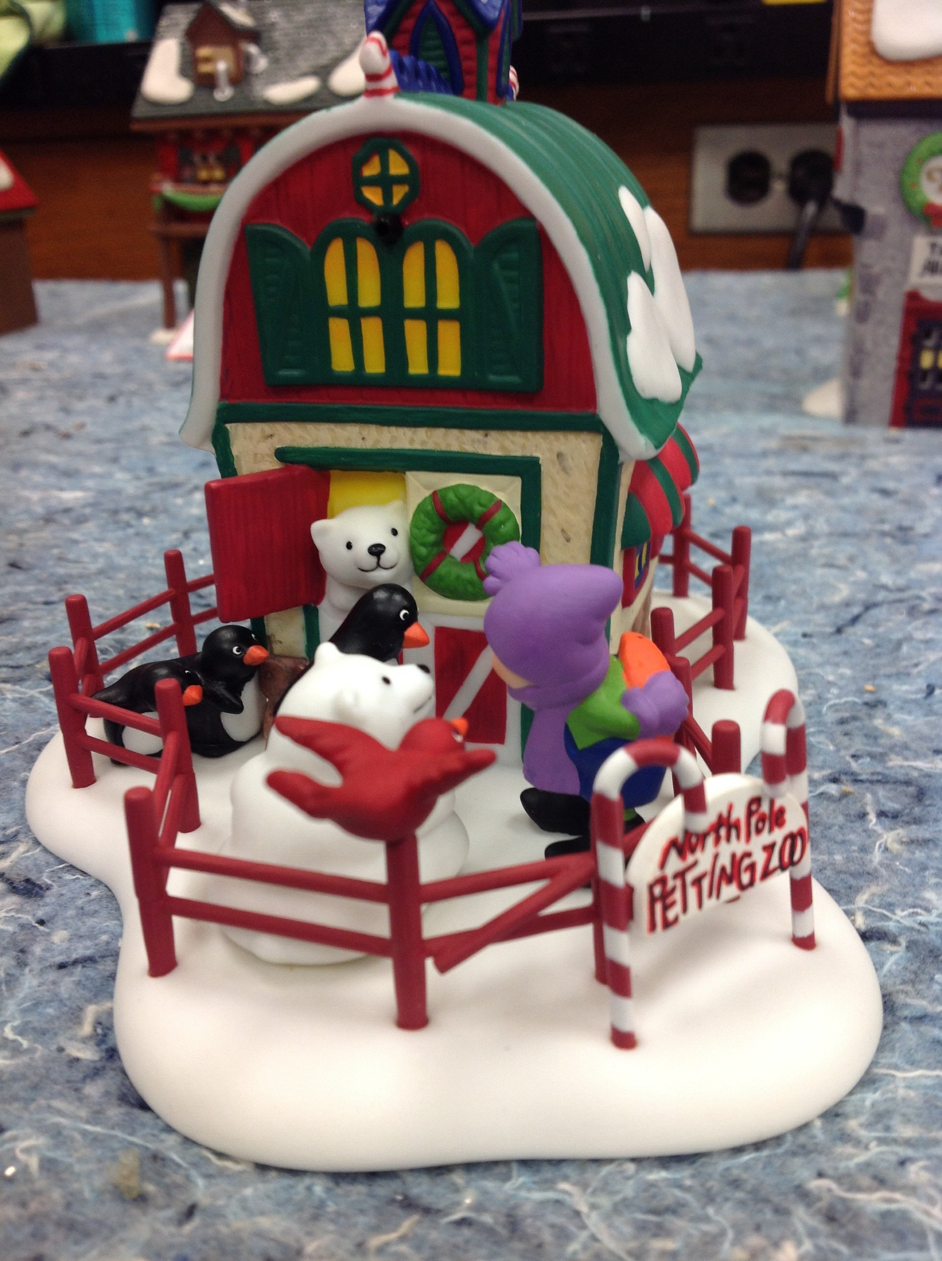 Dept 56-North Pole Petting Zoo