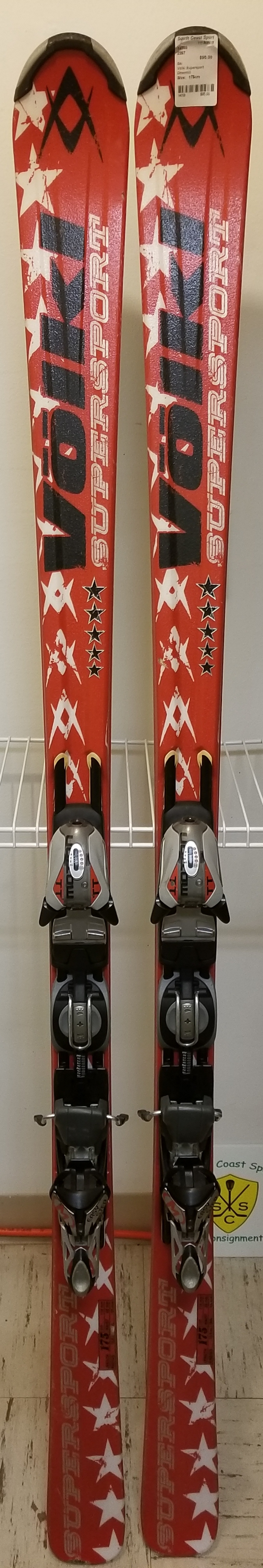 Volkl Supersport skis, Downhill, Size: 175cm