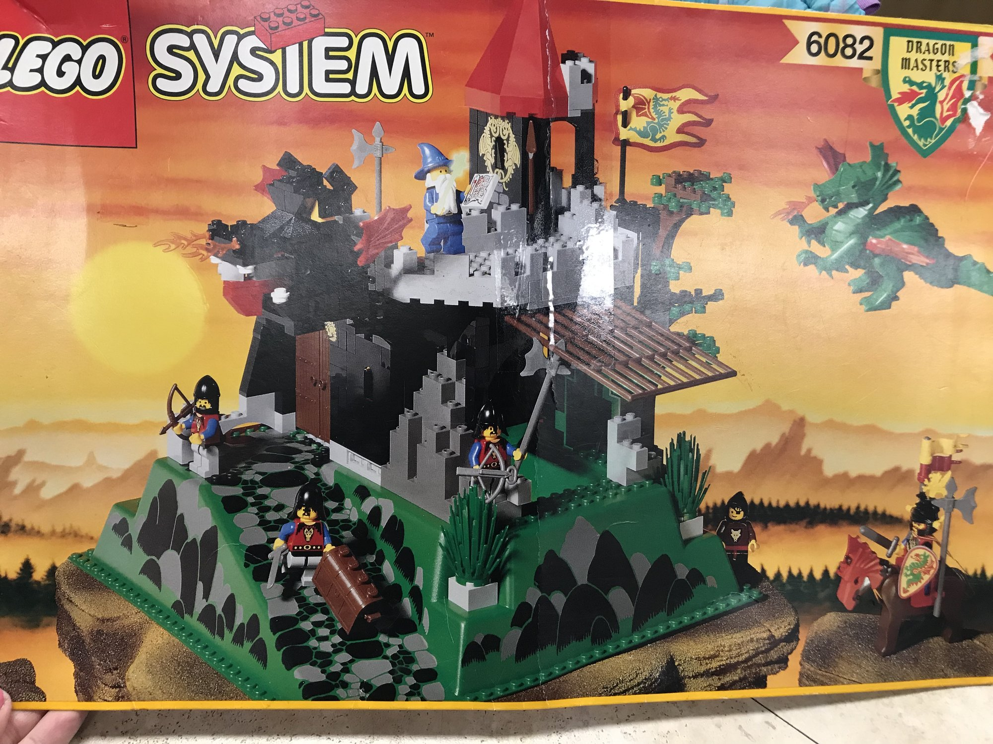 Lego Dragon Masters, all pieces accounted for sells on ebay for $140!