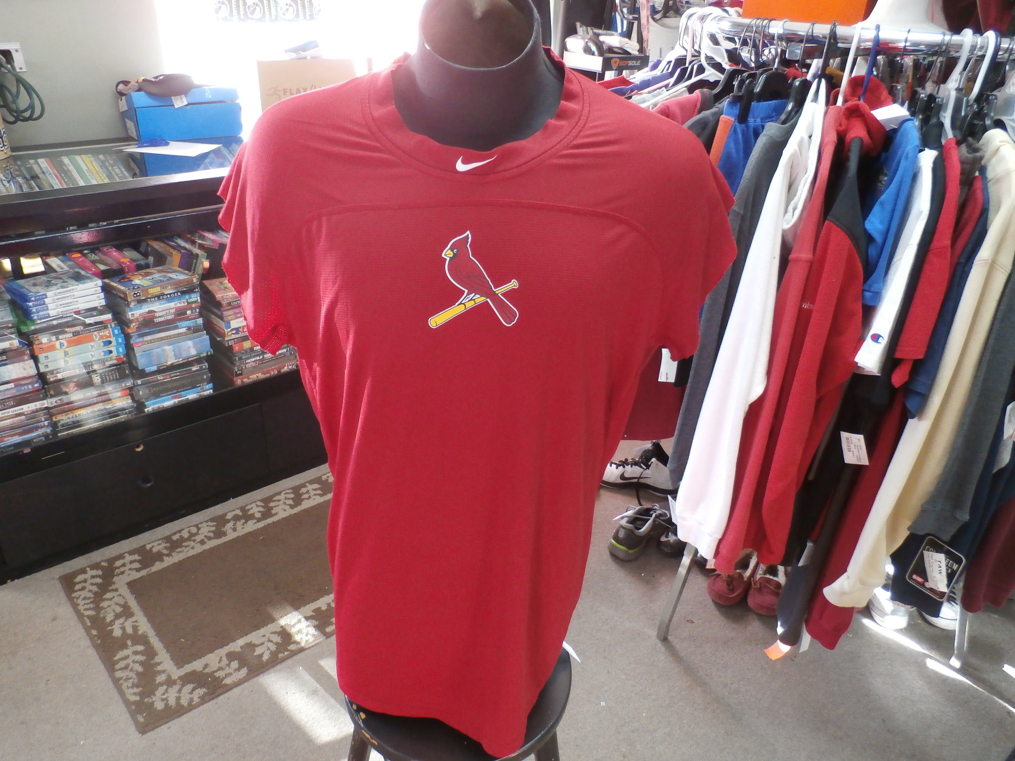 best website 2c1e2 4a48f St Louis Cardinals Shirt | Recycled ActiveWear ~ FREE ...