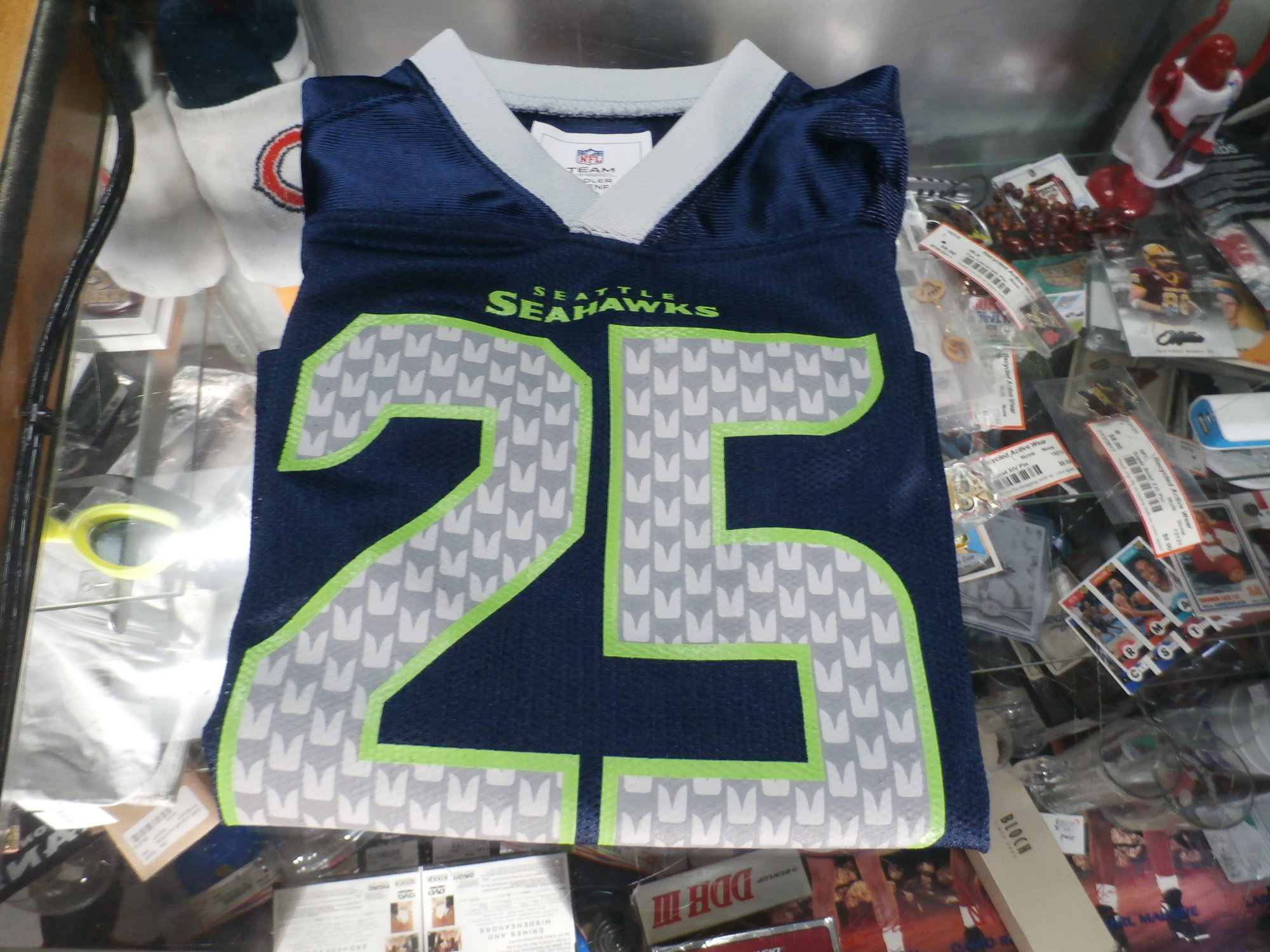 01373ee4 Seahawks Sherman Jersey | Recycled ActiveWear ~ FREE SHIPPING USA ONLY~