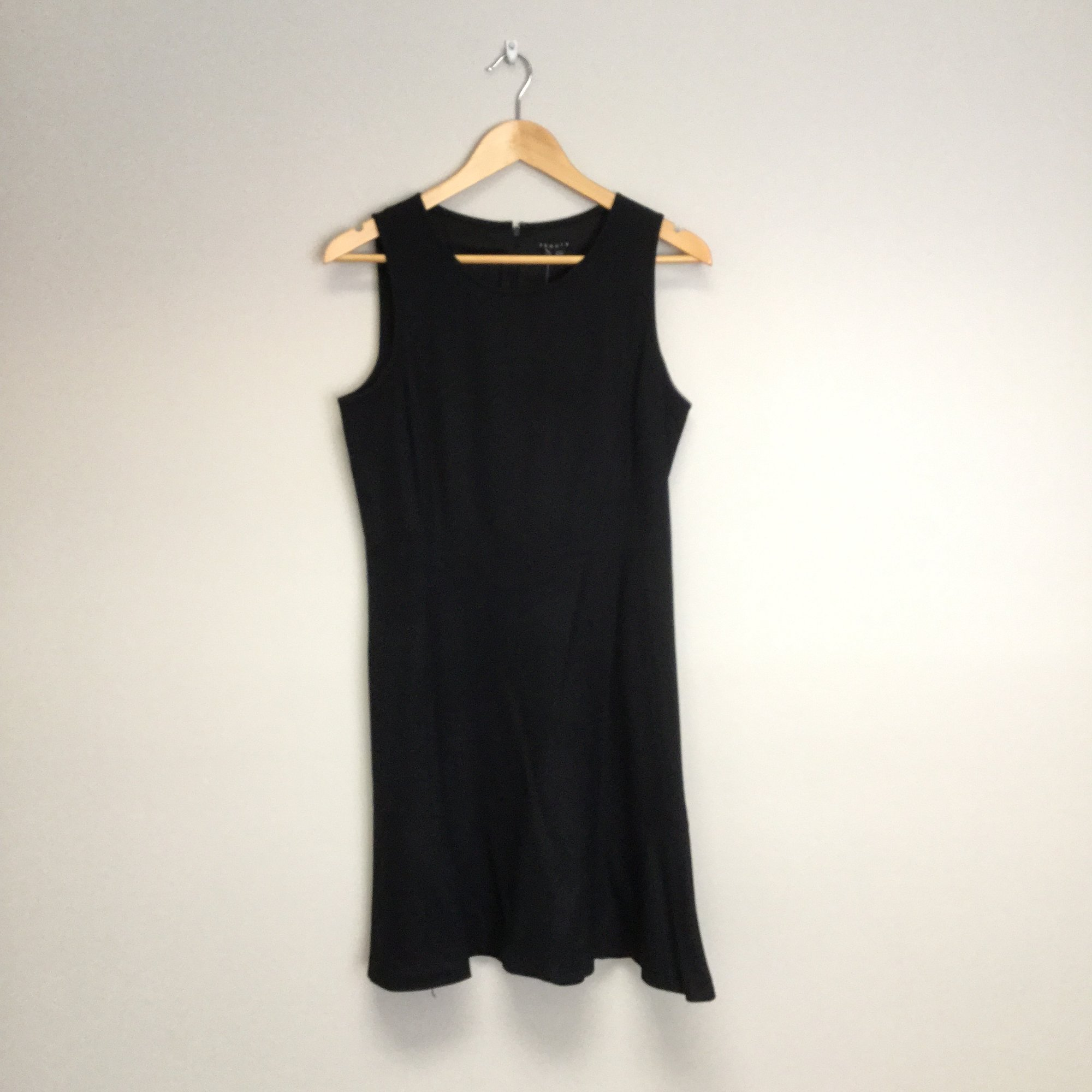 Theory A-Line Sleeveless Dress<br /> Size 8<br /> Black<br /> $79.00