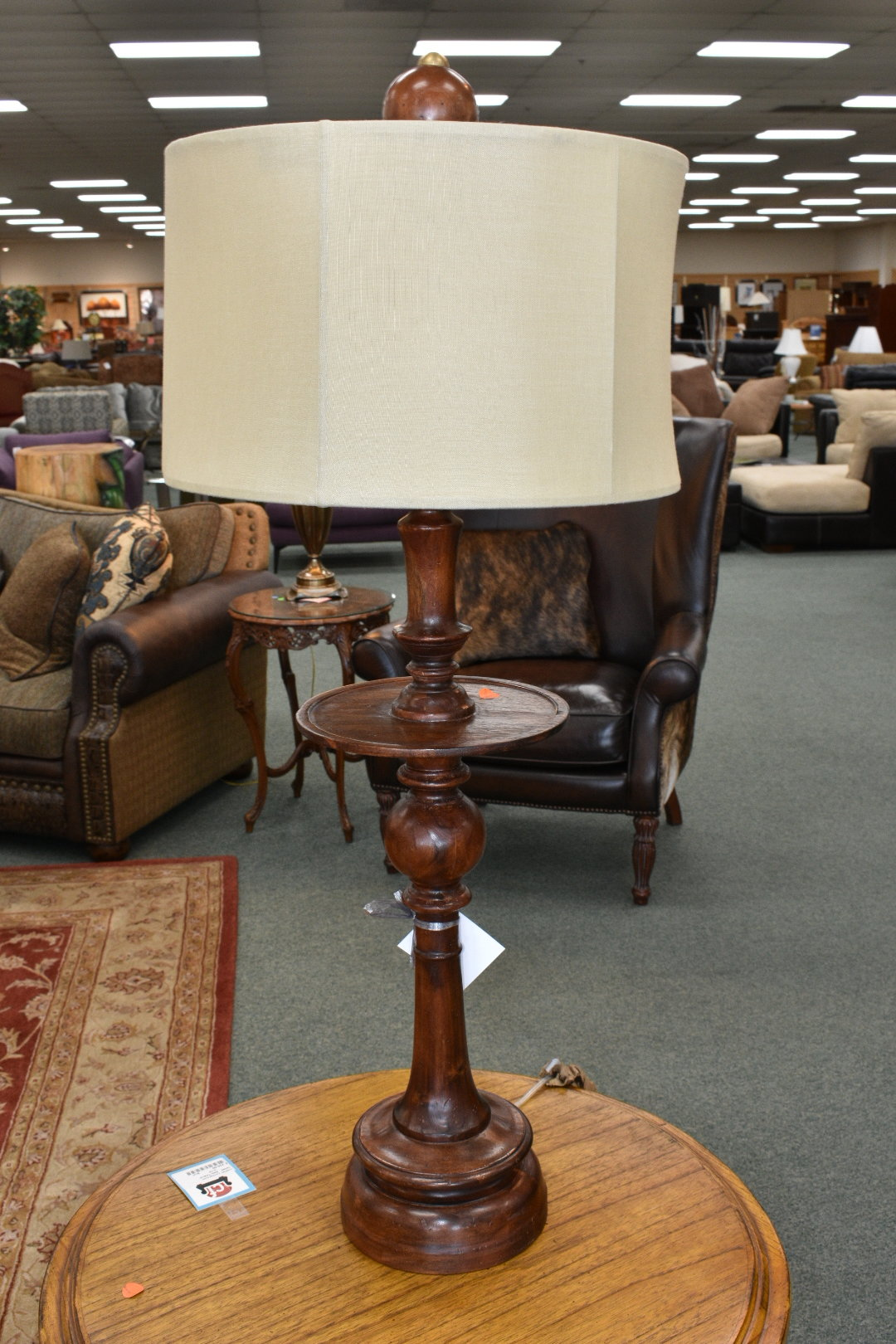 Wooden Lamp Consign Furniture R E N O