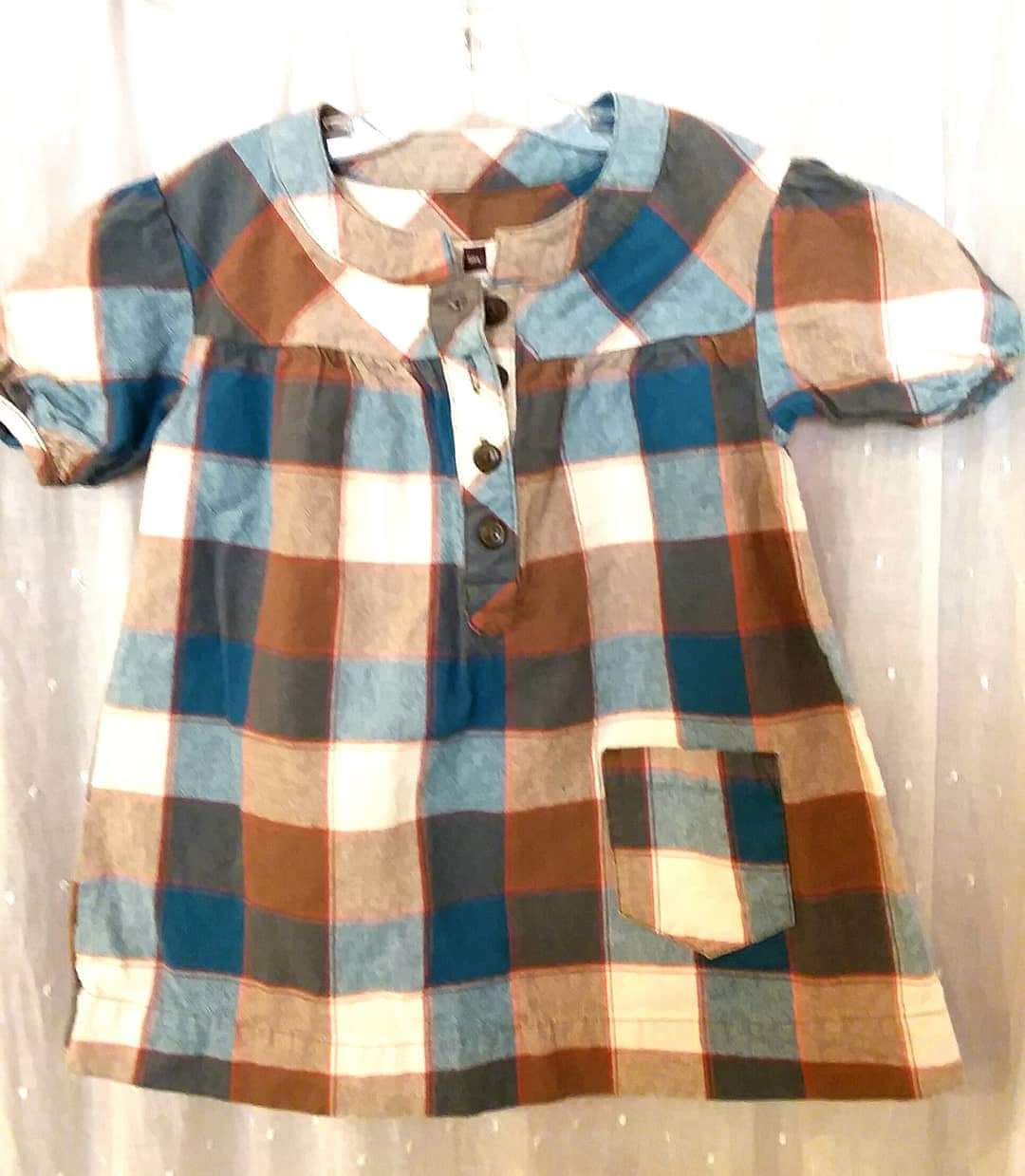 Tea Collection Country Road Plaid, Size: 2
