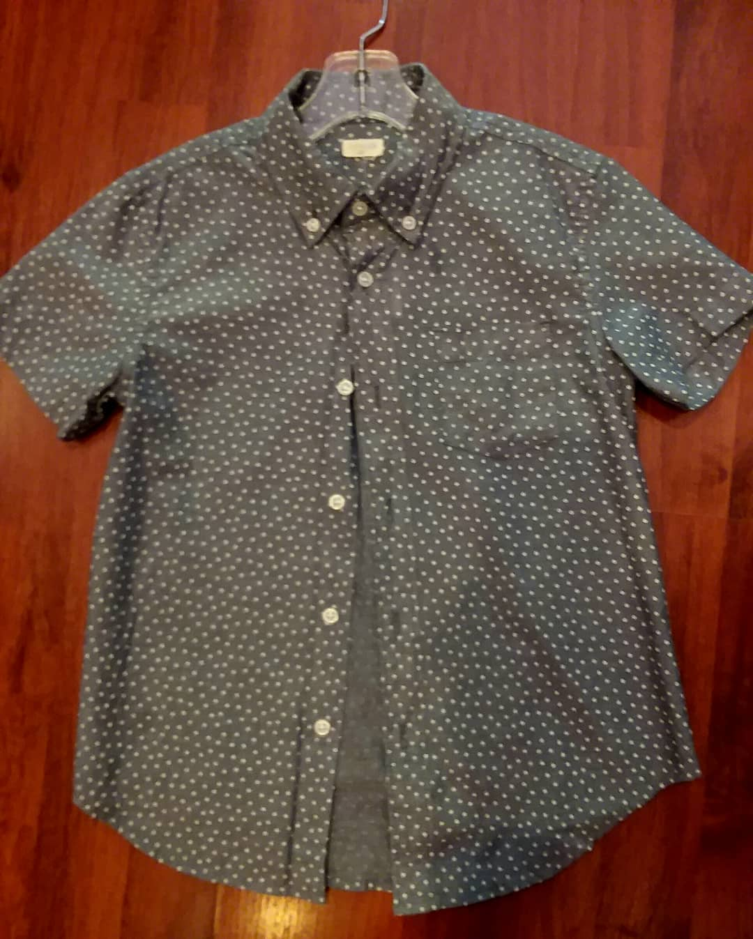 Crewcut Button Up S/S, Size: 6