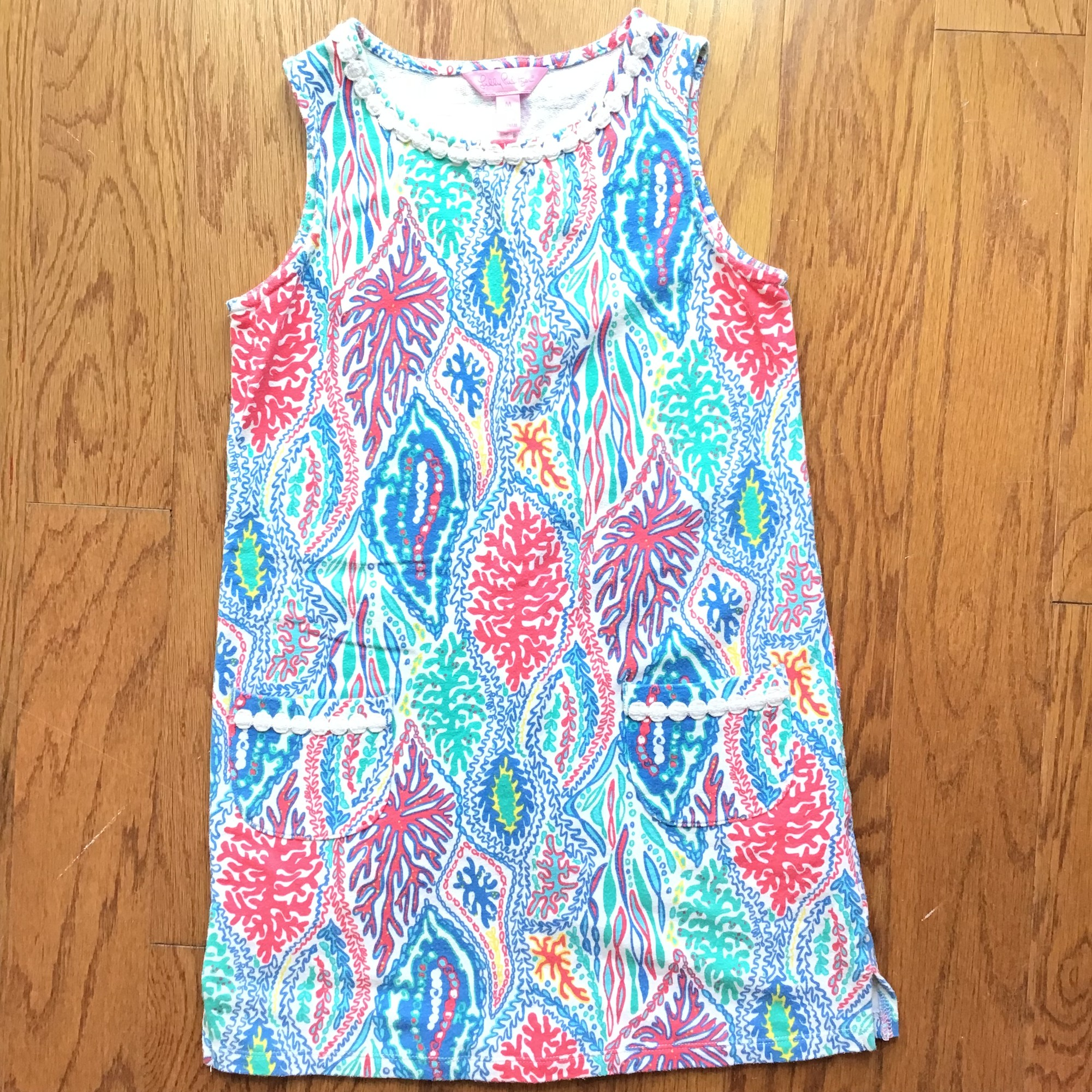 Lilly Pulitzer Dress, Multi, Size: 6-7<br /> <br /> <br /> ALL ONLINE SALES ARE FINAL. NO RETURNS OR EXCHANGES.