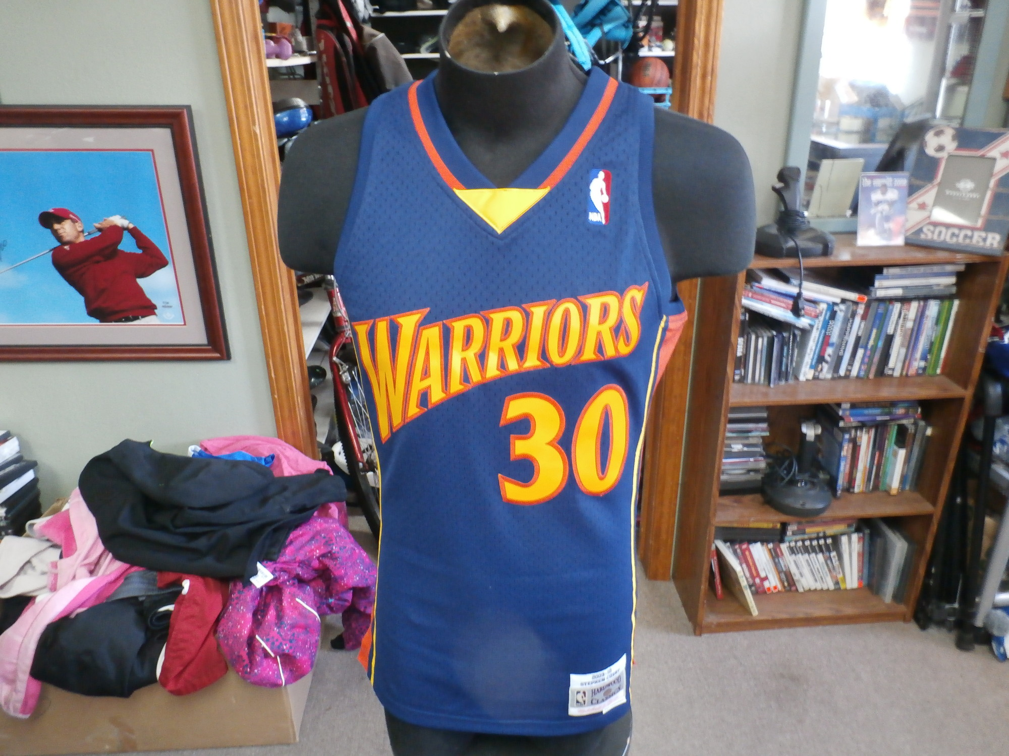 newest e0020 af4f6 Warriors Curry Jersey
