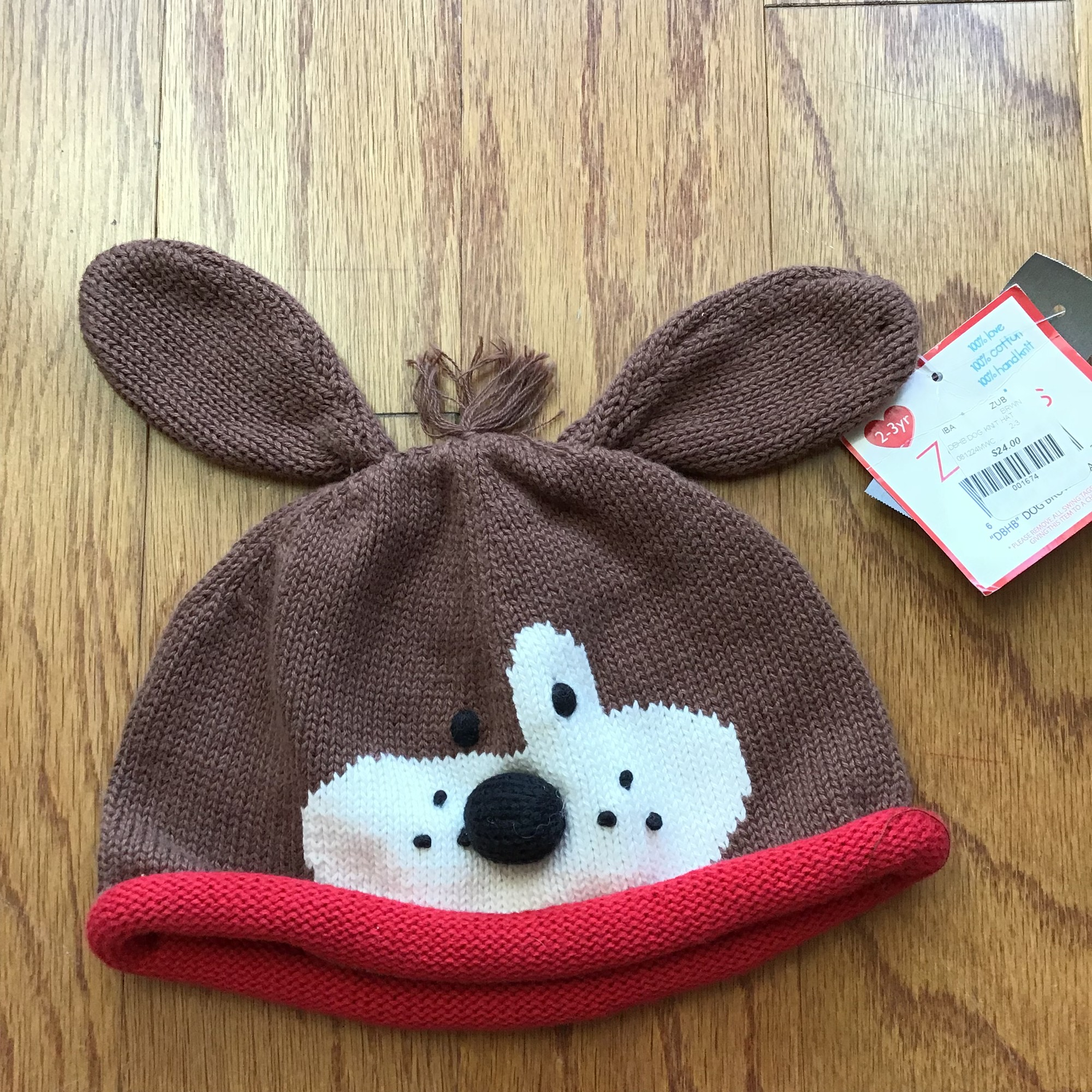 Zubels Hat NEW, Brown, Size: 2-3<br /> <br /> <br /> BRAND NEW WITH $24 TAG<br /> <br /> <br /> ALL ONLINE SALES ARE FINAL. NO RETURNS OR EXCHANGES.