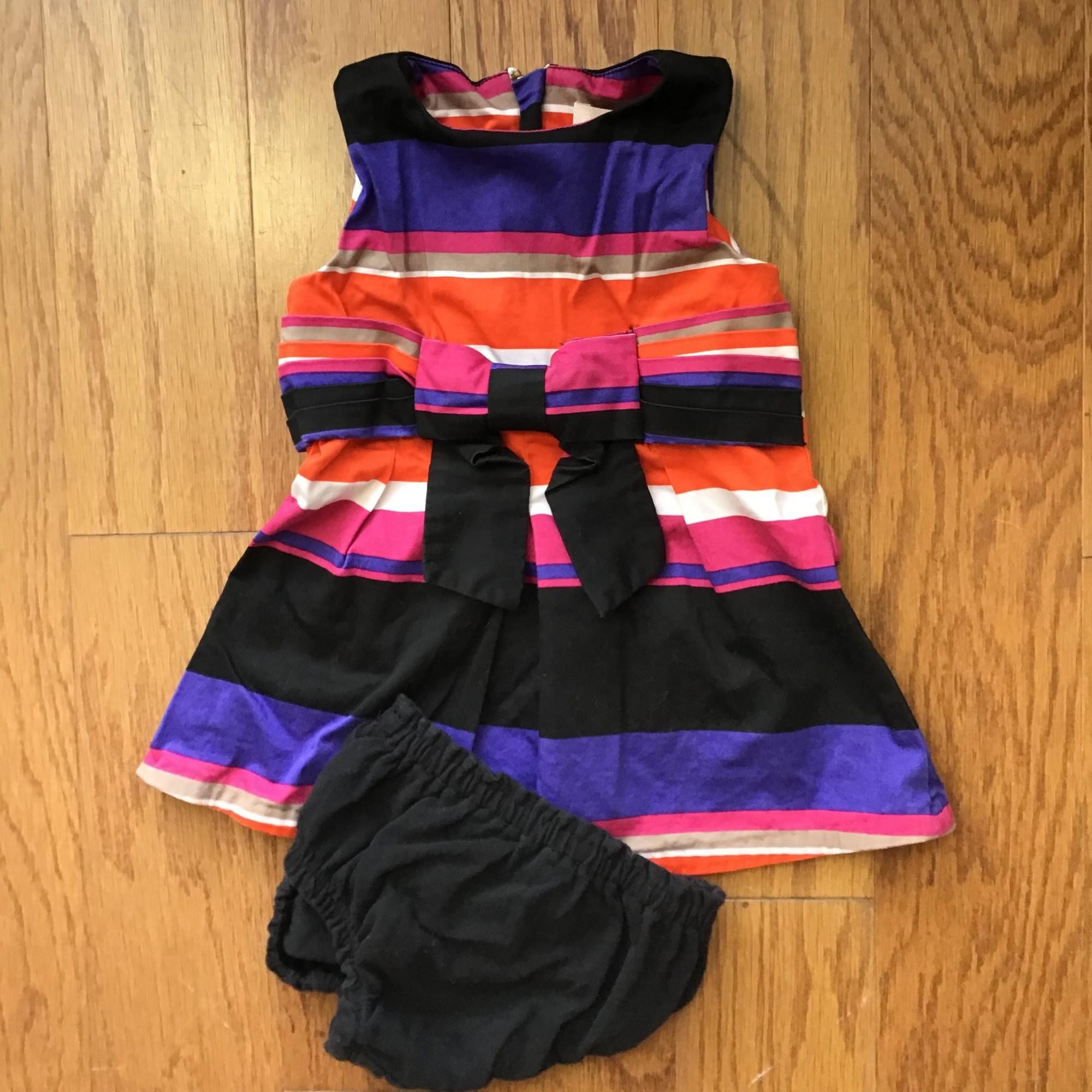 Kate Spade 2pc Dress, Multi, Size: 12m<br /> <br /> <br /> light wash wear<br /> <br /> ALL ONLINE SALES ARE FINAL. NO RETURNS OR EXCHANGES.