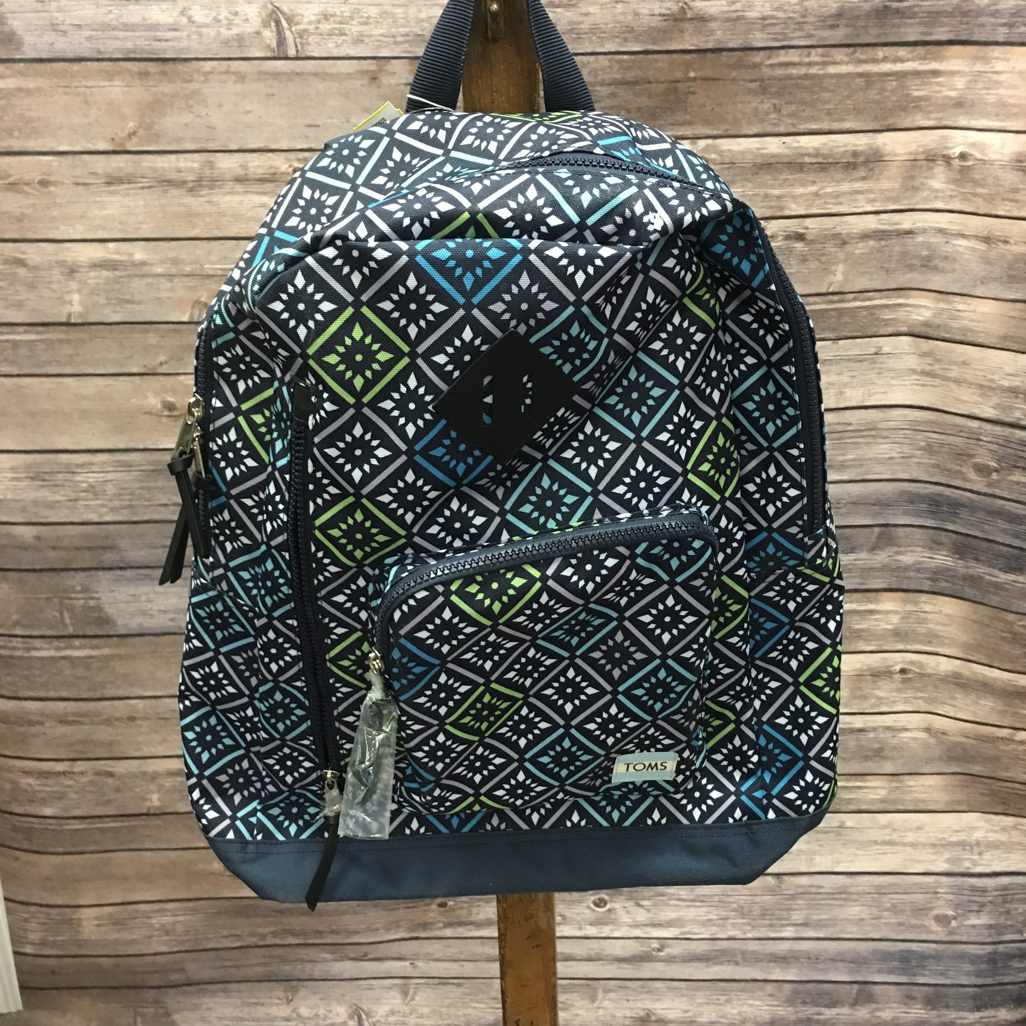New Toms Backpack, Blue, Size: None