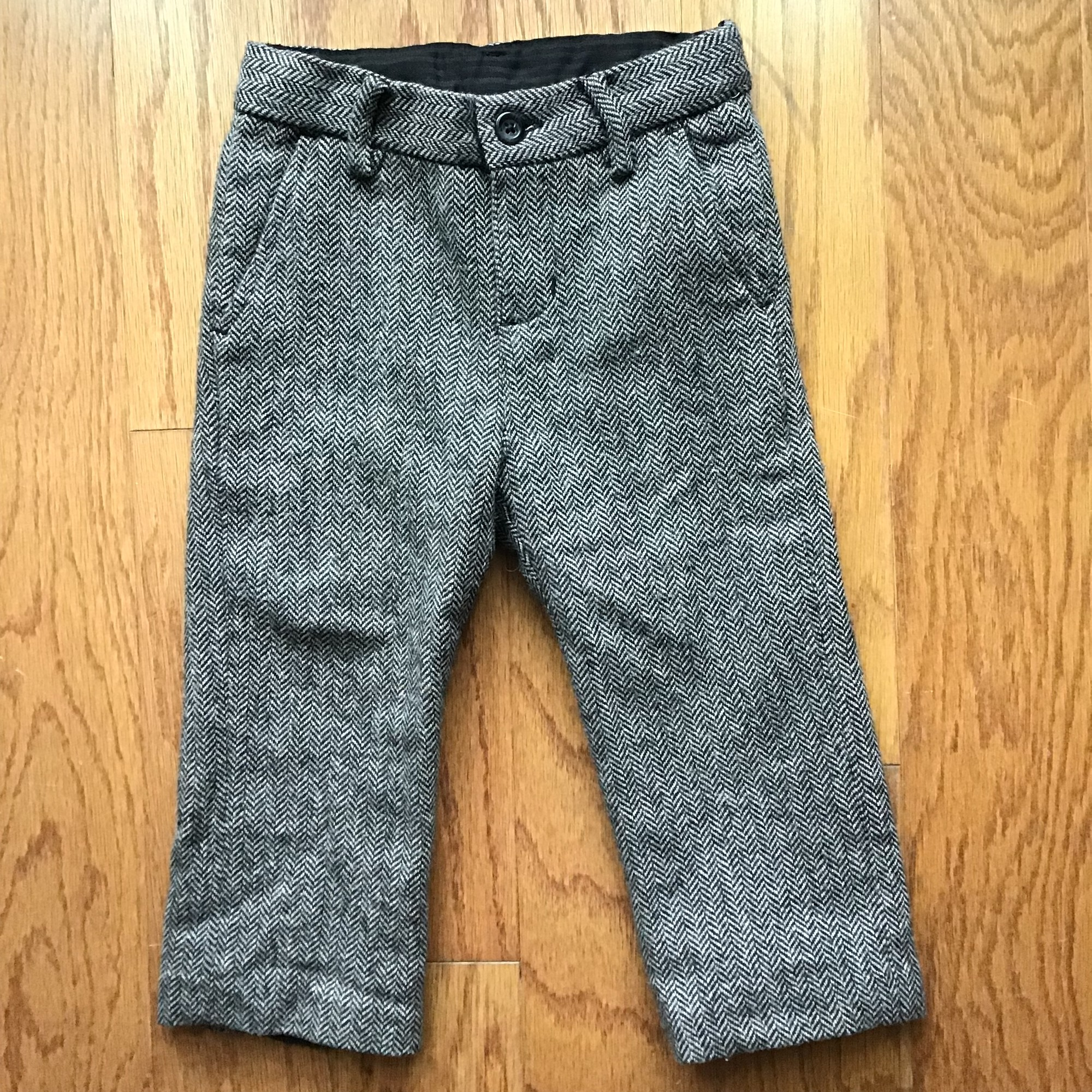 Janie Jack Pant, Gray, Size: 18m<br /> <br /> <br /> ALL ONLINE SALES ARE FINAL. NO RETURNS OR EXCHANGES.
