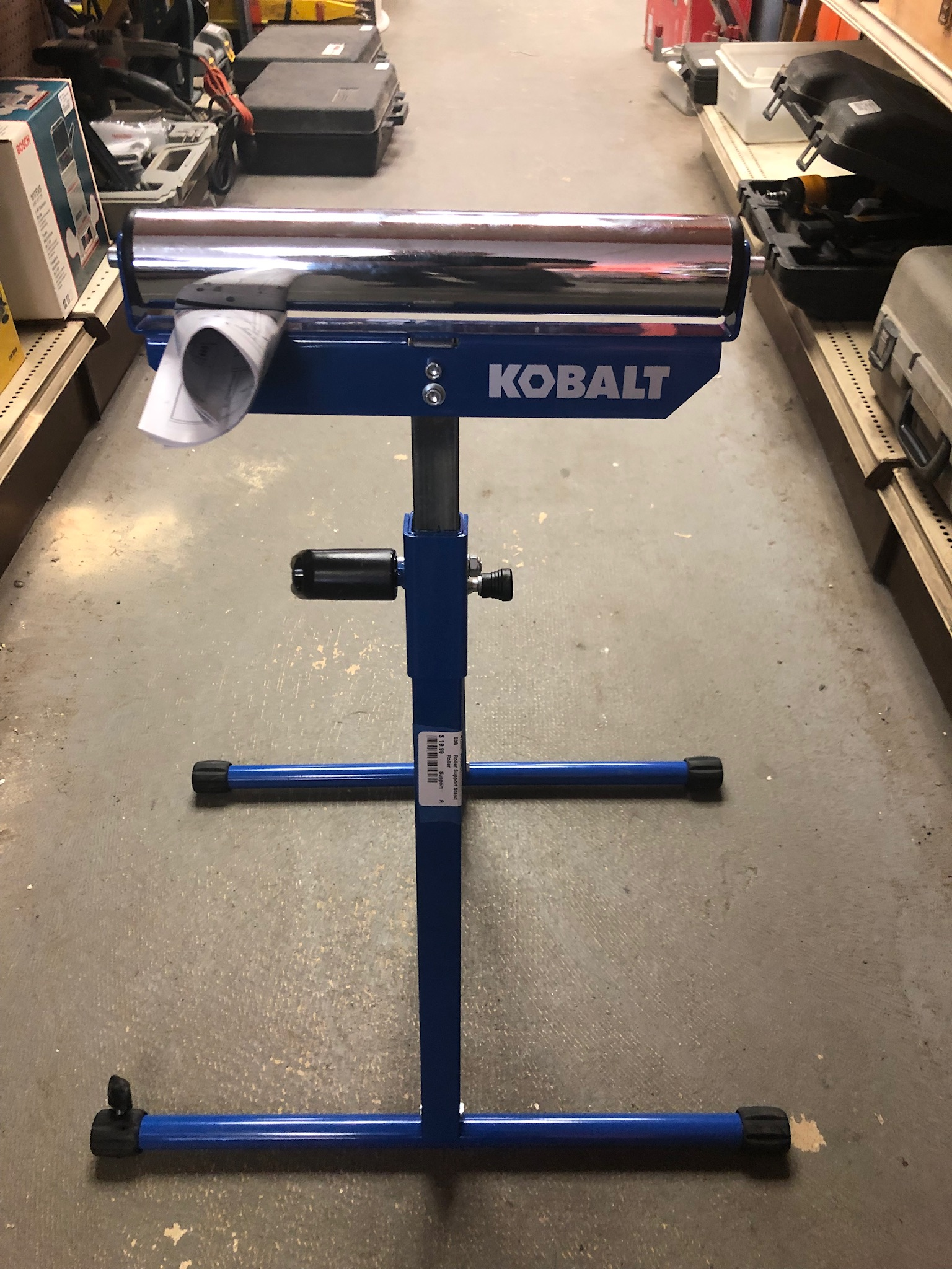 KOBALT Roller Support Stand<br /> <br /> *NEW, NEVER USED*