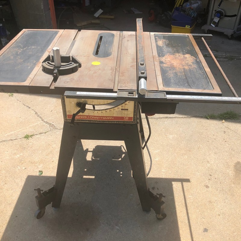 Craftsman 10-Inch 1-HP Table Saw