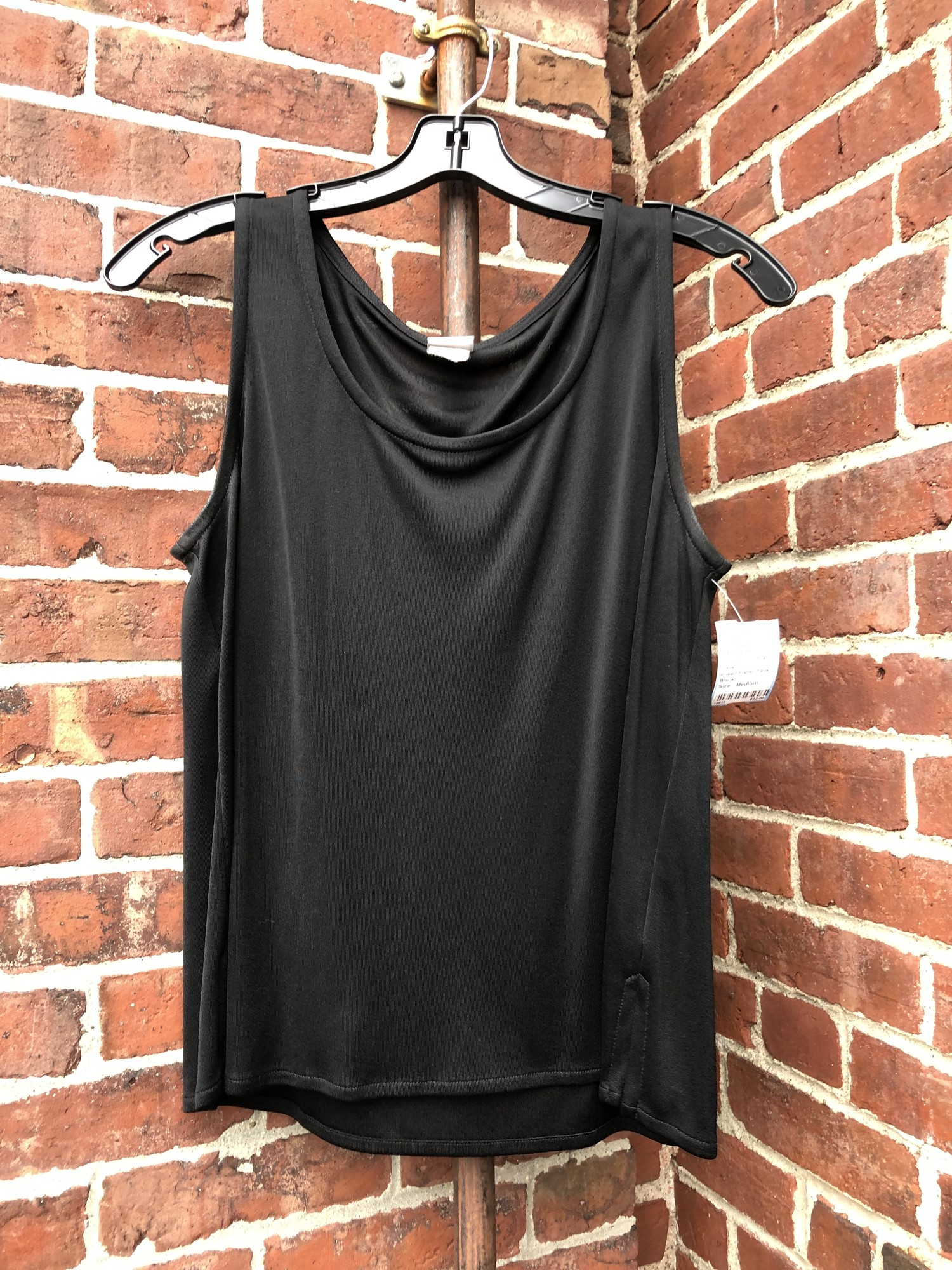 Eileen Fisher Tank, Black, Size: Medium