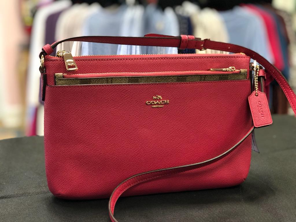COACH, Rasberry, Size: Crossover<br /> Plus Tax and shipping