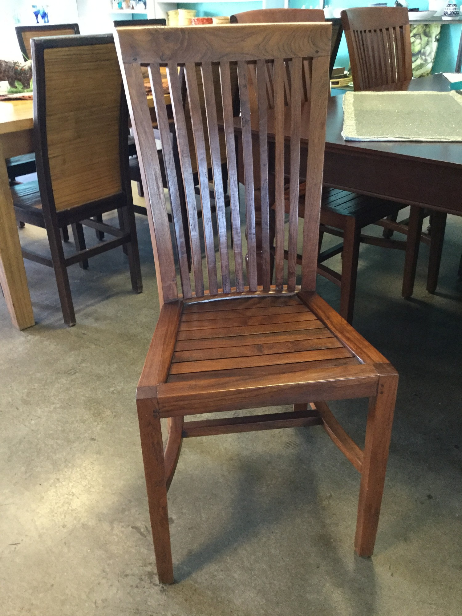 DiningChairs-hardwood, SetOf6, Size: Indonesian