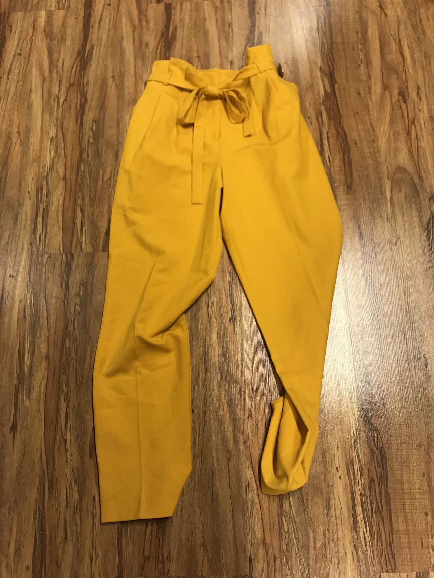 Miss Selfridge Pants, Yellow, Size: UK8