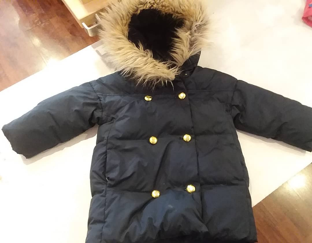 Crewcuts Down Puffer, Black, Size: 3