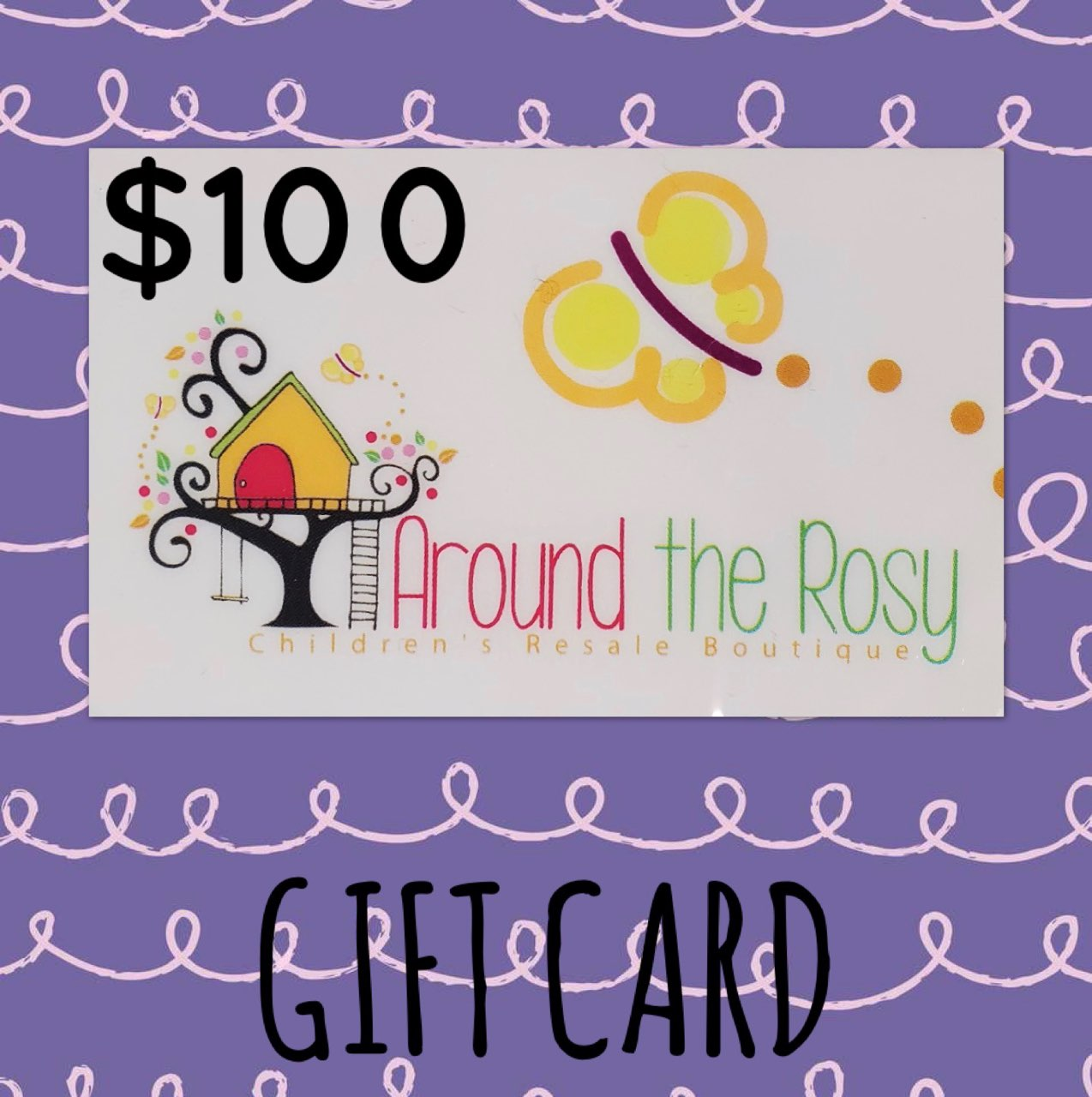 Gift Card, No Expiration $100.00