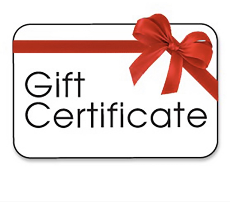 Gift Certificate. Let them choose something wonderful from our online or brick & mortar stores!