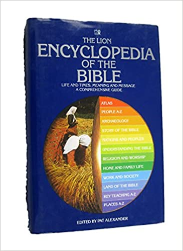 Hardcover  The Lion Encyclopedia of the Bible<br /> Editor pat Alexander