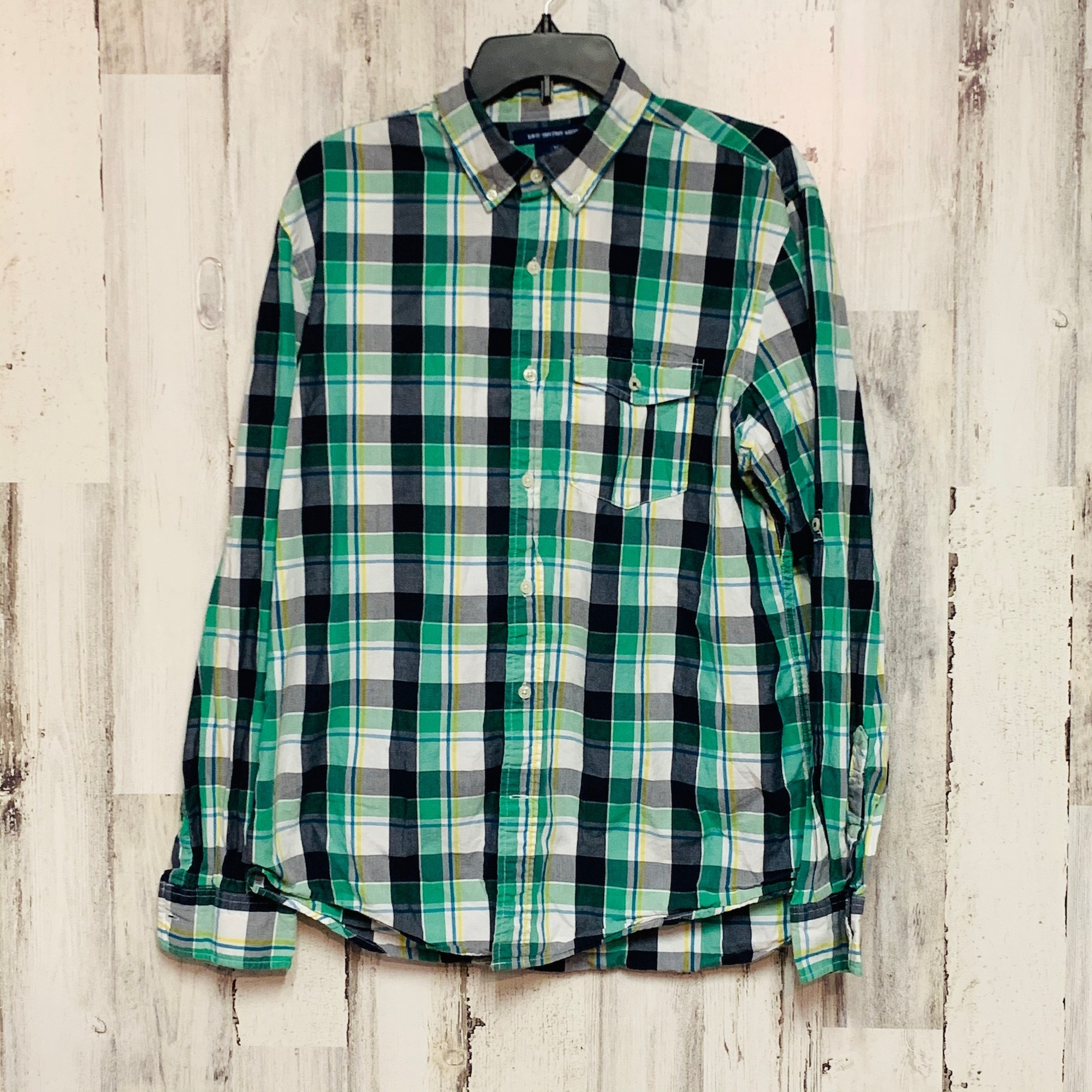 Old Navy, Plaid, Size: L
