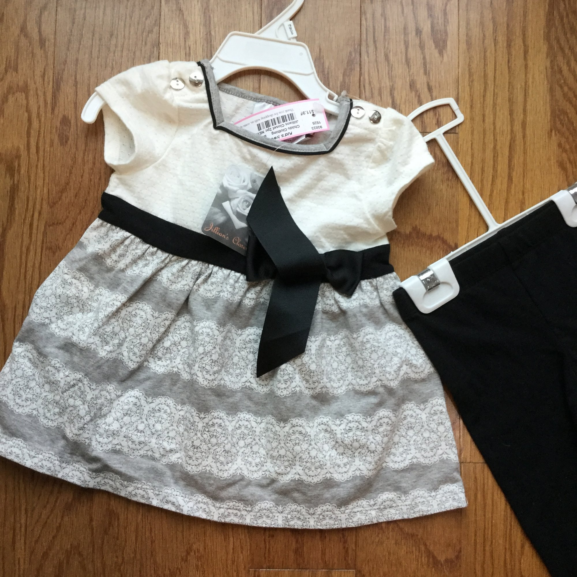 ... Jillians Closet 2pc NEW. Brand New With Tag
