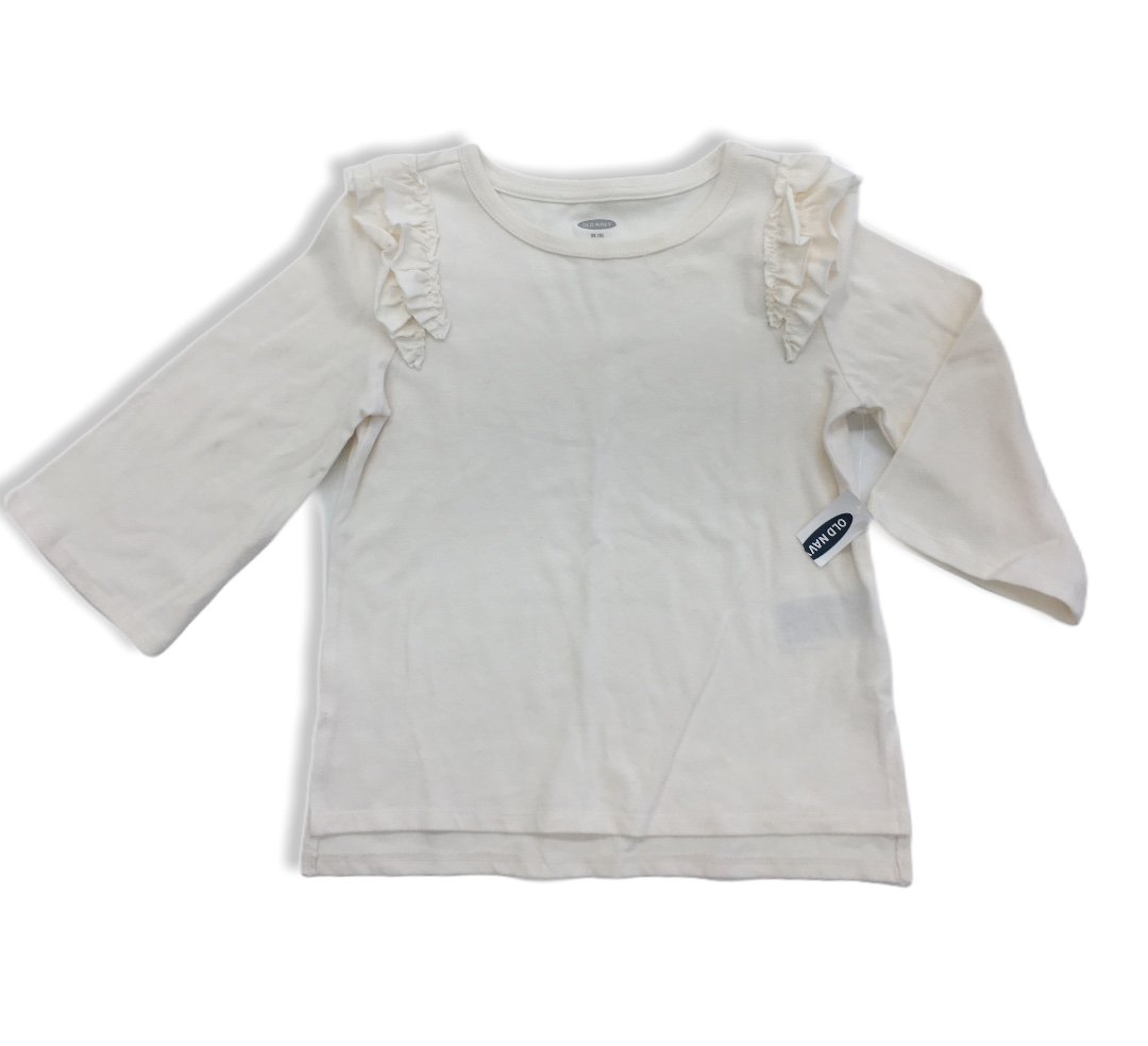 Long Sleeve Shirt NWT, Girl, Size: 5<br /> **more beige vs white**<br /> <br /> #resalerocks #oldnavy #pipsqueakresale #vancouverwa #portland #reusereducerecycle #fashiononabudget #chooseused #consignment #savemoney #shoplocal #weship #keepusopen #shoplocalonline #resale #resaleboutique #mommyandme #minime #fashion #reseller                                                                                                                                       Cross posted, items are located at #PipsqueakResaleBoutique, payments accepted: cash, paypal & credit cards. Any flaws will be described in the comments. More pictures available with link above. Local pick up available at the #VancouverMall, tax will be added (not included in price), shipping available (not included in price), item can be placed on hold with communication, message with any questions. Join Pipsqueak Resale - Online to see all the new items! Follow us on IG @pipsqueakresale & Thanks for looking! Due to the nature of consignment, any known flaws will be described; ALL SHIPPED SALES ARE FINAL. All items are currently located inside Pipsqueak Resale Boutique as a store front items purchased on location before items are prepared for shipment will be refunded.