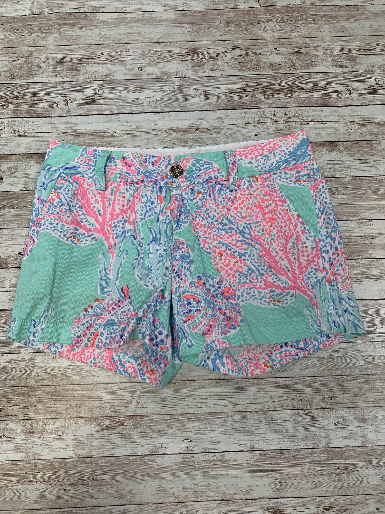Lilly Pulitzer Shorts, blue, Size: Jrs 2