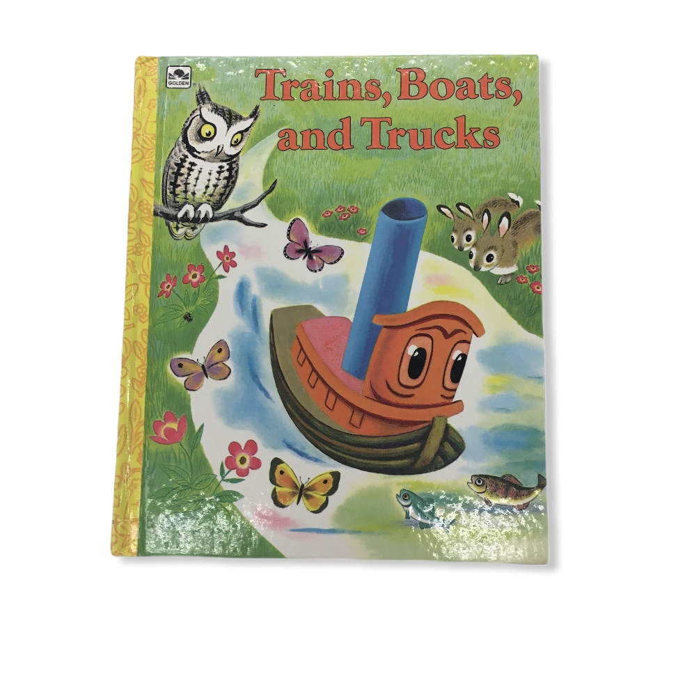 Trains Boats And Trucks, Book<br /> <br /> #resalerocks #books  #pipsqueakresale #vancouverwa #portland #reusereducerecycle #fashiononabudget #chooseused #consignment #savemoney #shoplocal #weship #keepusopen #shoplocalonline #resale #resaleboutique #mommyandme #minime #fashion #reseller                                                                                                                                      Cross posted, items are located at #PipsqueakResaleBoutique, payments accepted: cash, paypal & credit cards. Any flaws will be described in the comments. More pictures available with link above. Local pick up available at the #VancouverMall, tax will be added (not included in price), shipping available (not included in price), item can be placed on hold with communication, message with any questions. Join Pipsqueak Resale - Online to see all the new items! Follow us on IG @pipsqueakresale & Thanks for looking! Due to the nature of consignment, any known flaws will be described; ALL SHIPPED SALES ARE FINAL. All items are currently located inside Pipsqueak Resale Boutique as a store front items purchased on location before items are prepared for shipment will be refunded.