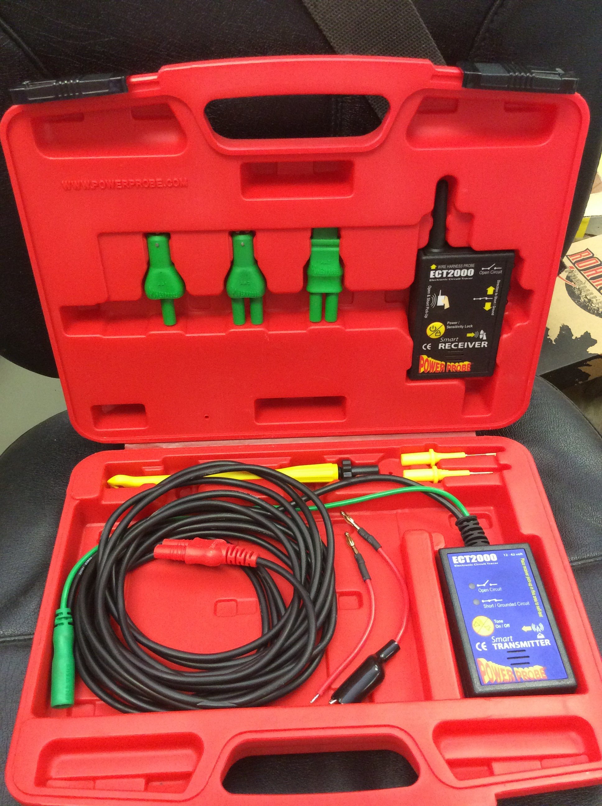 Short Open Circuit Tester The Tool Consignment Store Tracer Cornwell Tools Pwppect2000 Kit Excellent Condition