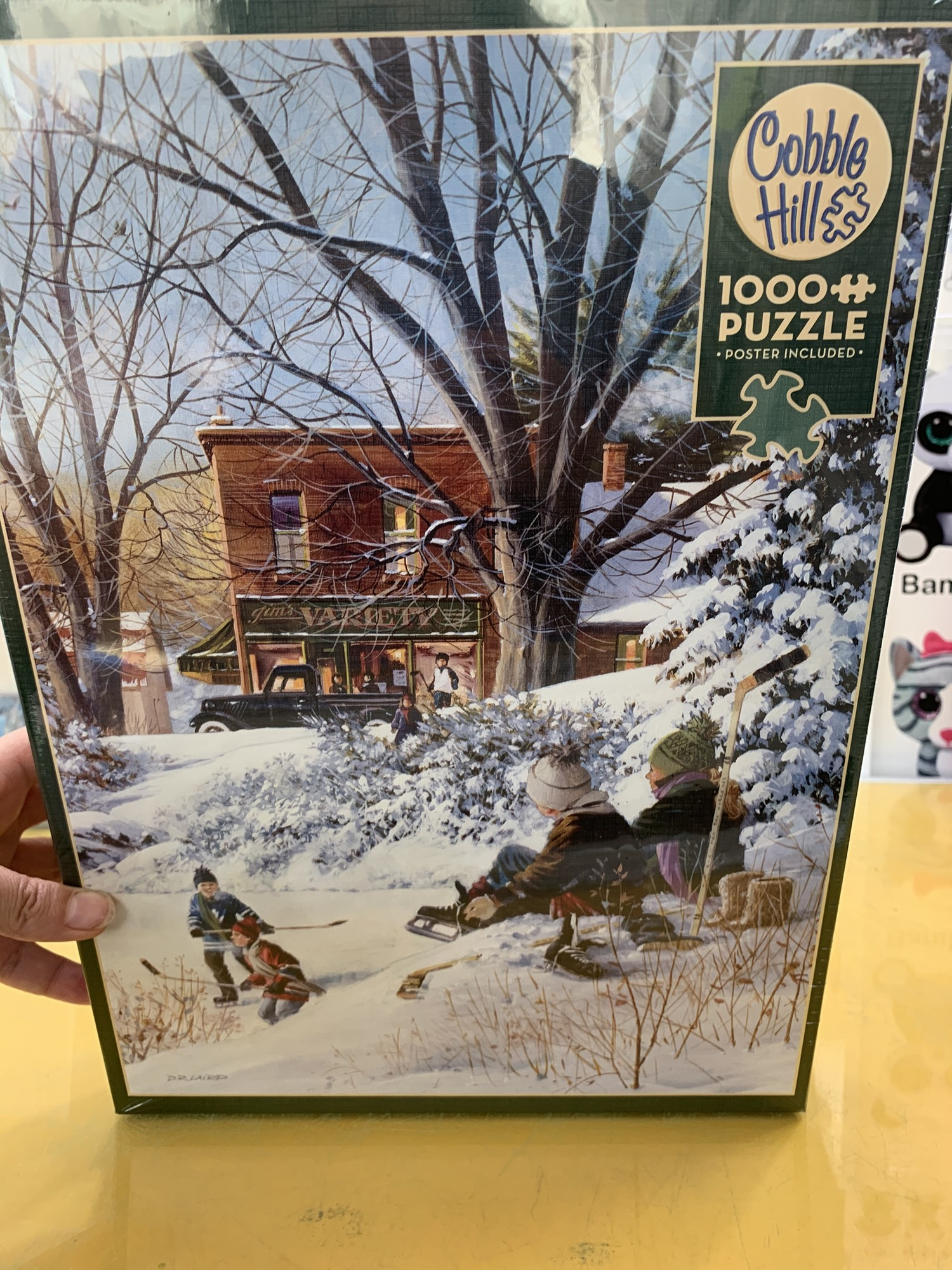 Winter 1000 Piece Puzzle, 1000 P, Size: Puzzle