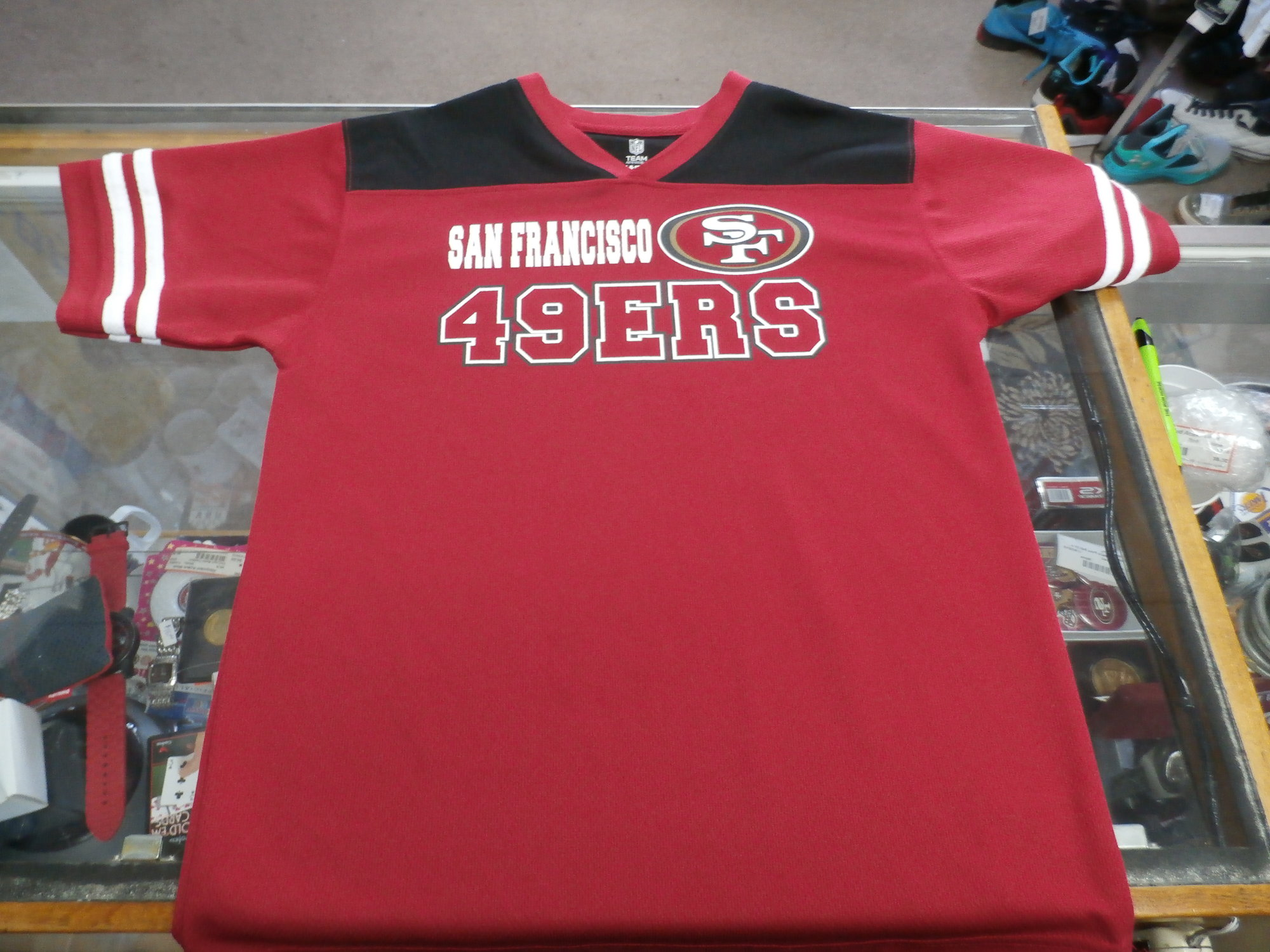 SF 49ers Shirt YOUTH | Recycled ActiveWear ~ FREE SHIPPING USA ONLY~