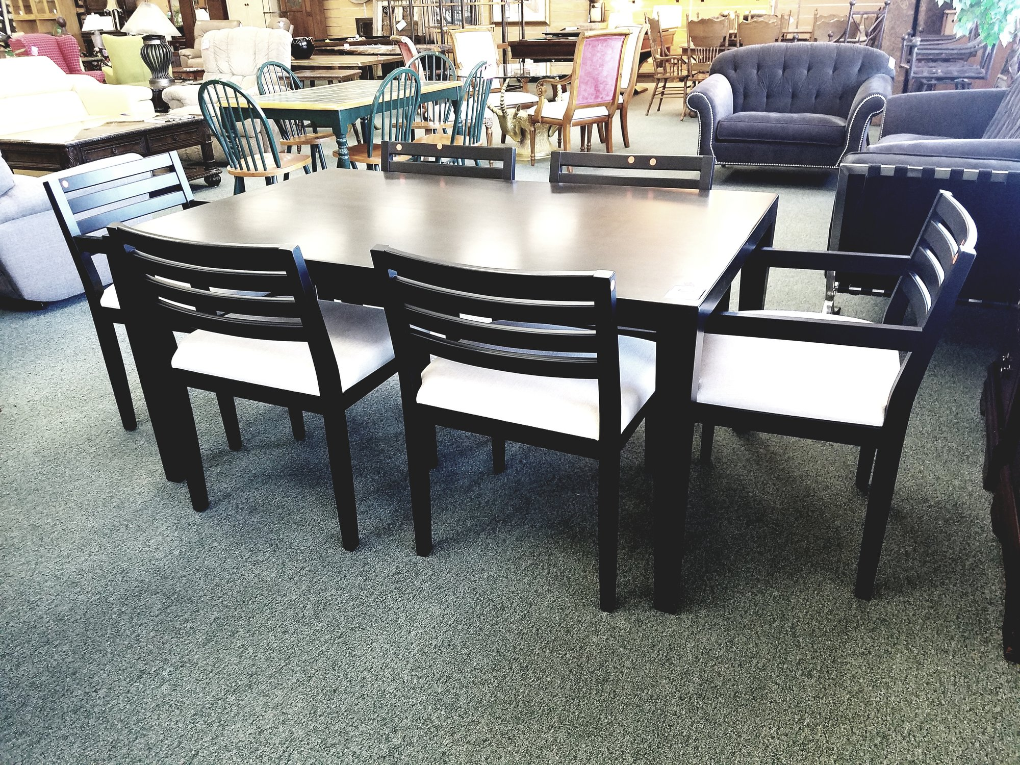R B Table 6 Chairs Consign Furniture R E N O