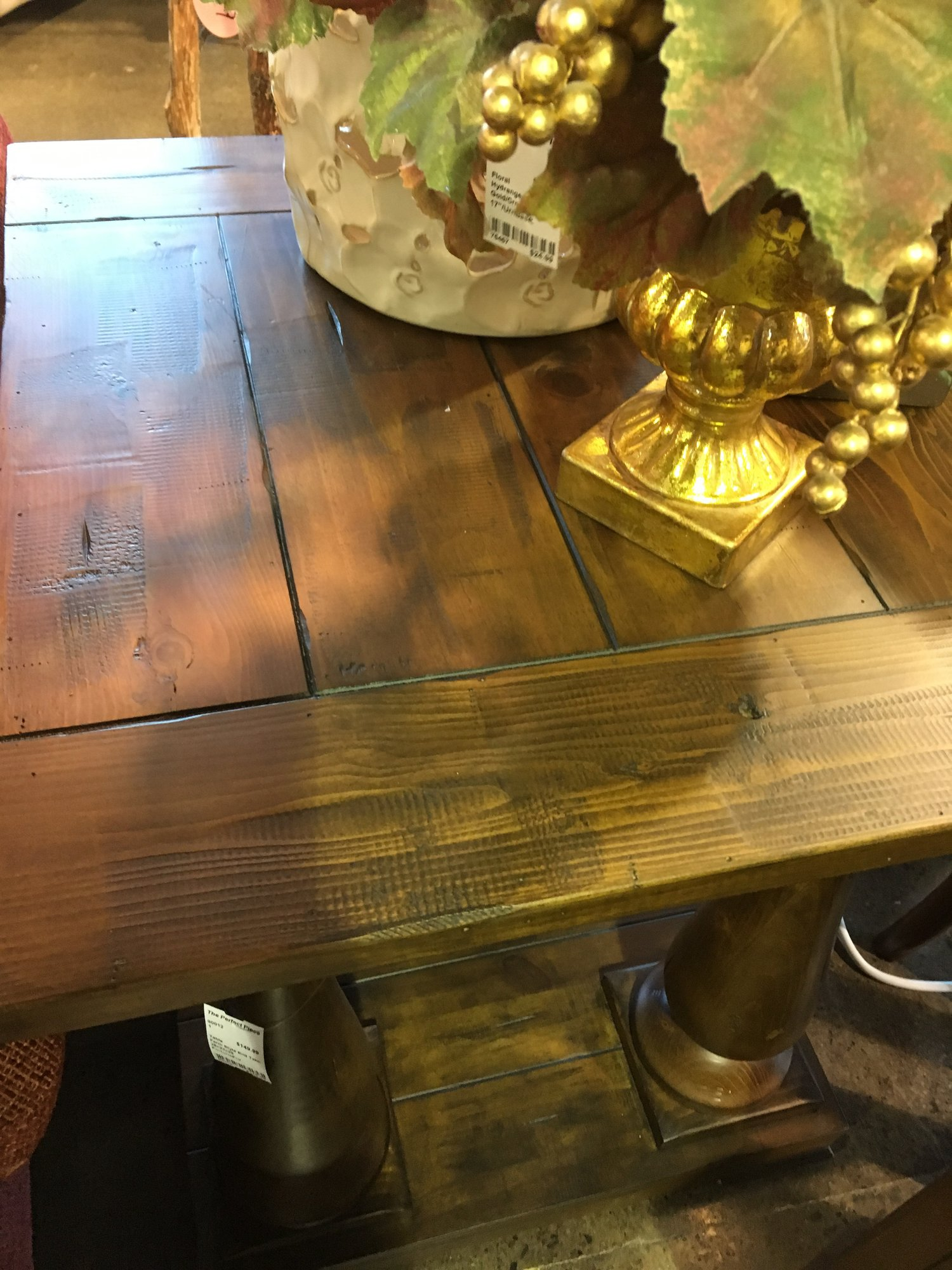 Farm Style End Table The Perfect Piece Home Furnishings