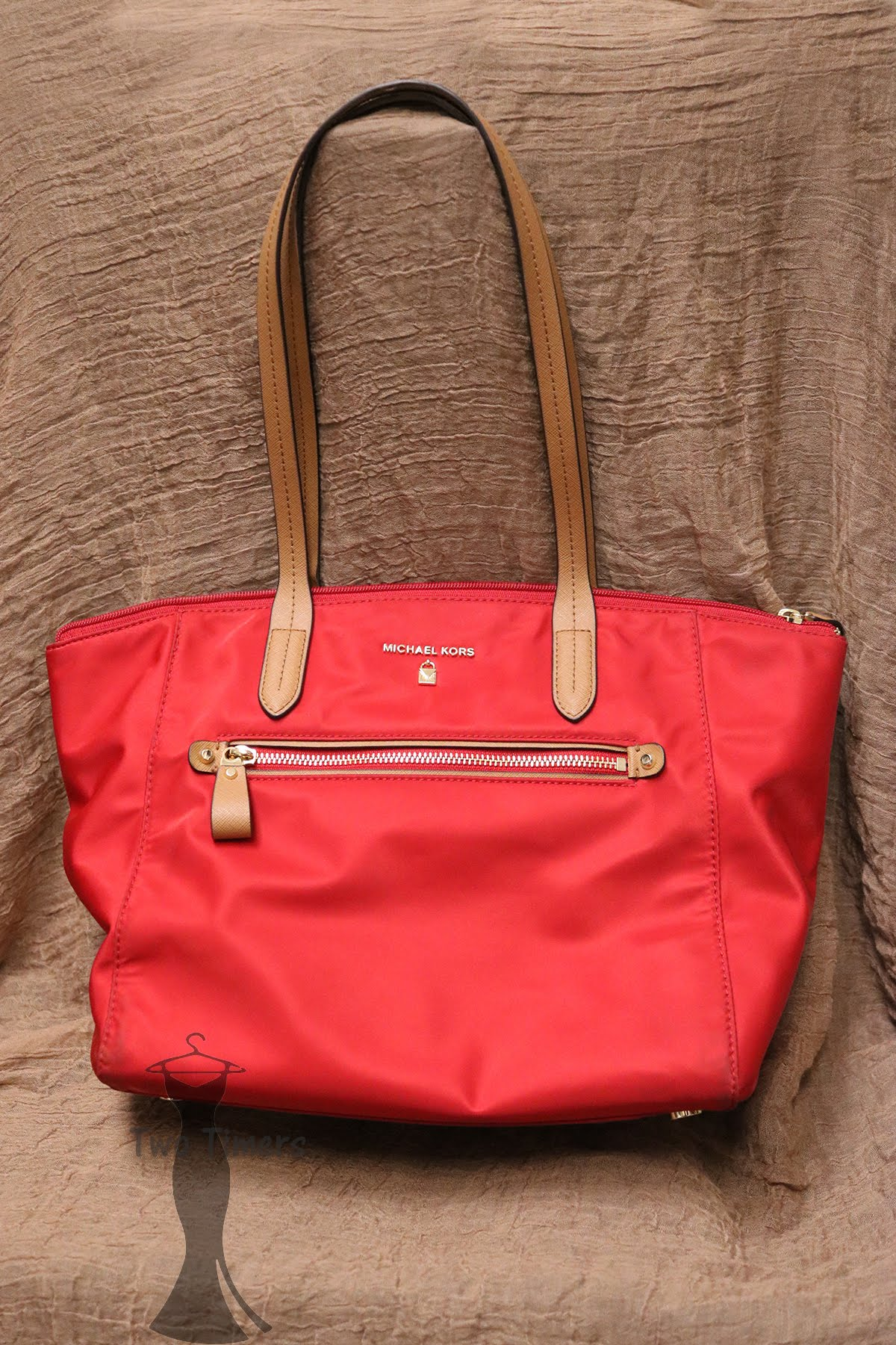 1e2110d9a066 ... reduced red michael kors purse nwt cd775 0c262