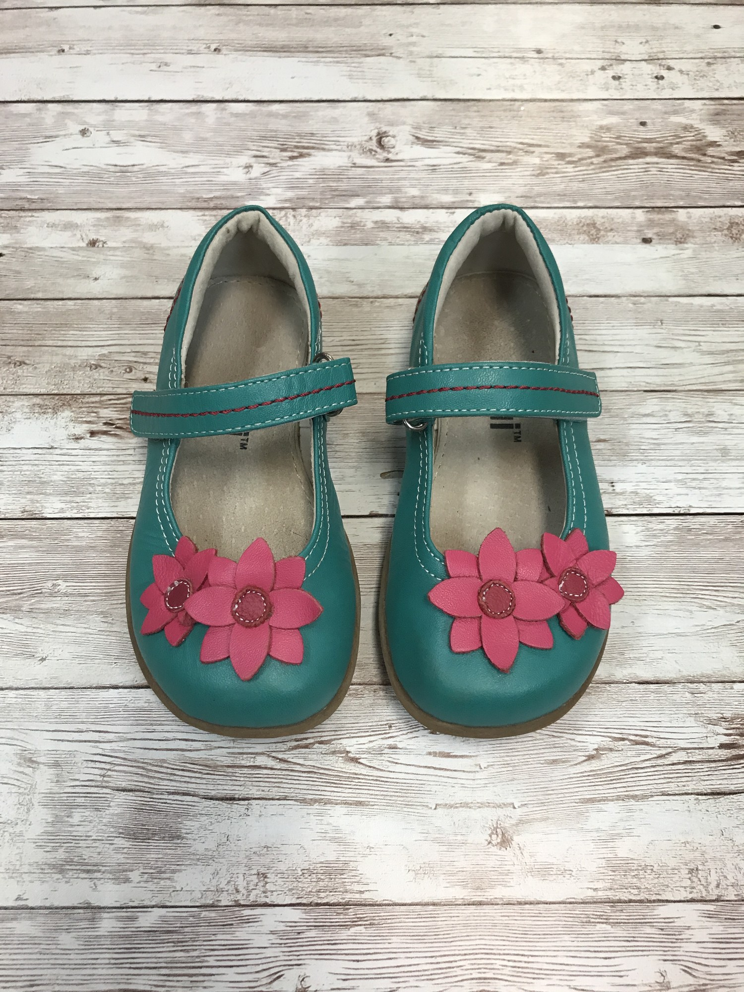 See Kai Run Maryjanes, Teal, Size: Shoes 9