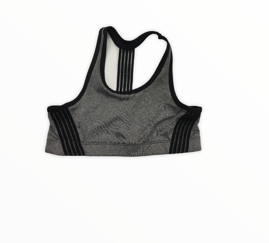 Sports Bra (Black/Grey), Girl, Size: 36<br /> <br /> #resalerocks #pipsqueakresale #vancouverwa #portland #reusereducerecycle #fashiononabudget #chooseused #consignment #savemoney #shoplocal #weship #keepusopen #shoplocalonline #resale #resaleboutique #mommyandme #minime #fashion #reseller                                                                                                                                      Cross posted, items are located at #PipsqueakResaleBoutique, payments accepted: cash, paypal & credit cards. Any flaws will be described in the comments. More pictures available with link above. Local pick up available at the #VancouverMall, tax will be added (not included in price), shipping available (not included in price), item can be placed on hold with communication, message with any questions. Join Pipsqueak Resale - Online to see all the new items! Follow us on IG @pipsqueakresale & Thanks for looking! Due to the nature of consignment, any known flaws will be described; ALL SHIPPED SALES ARE FINAL. All items are currently located inside Pipsqueak Resale Boutique as a store front items purchased on location before items are prepared for shipment will be refunded.