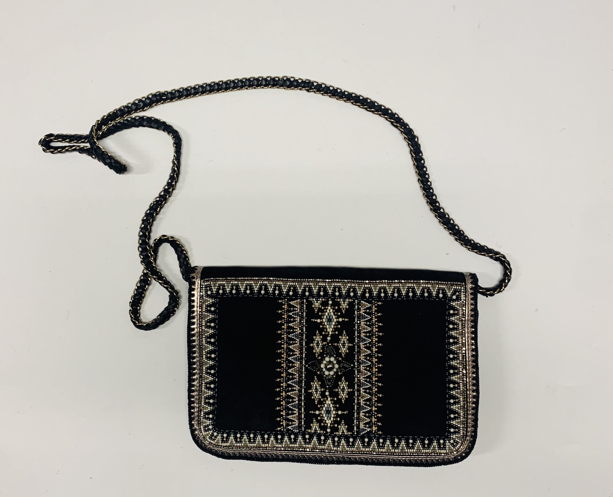 Beaded Purse, Multi, Size: None
