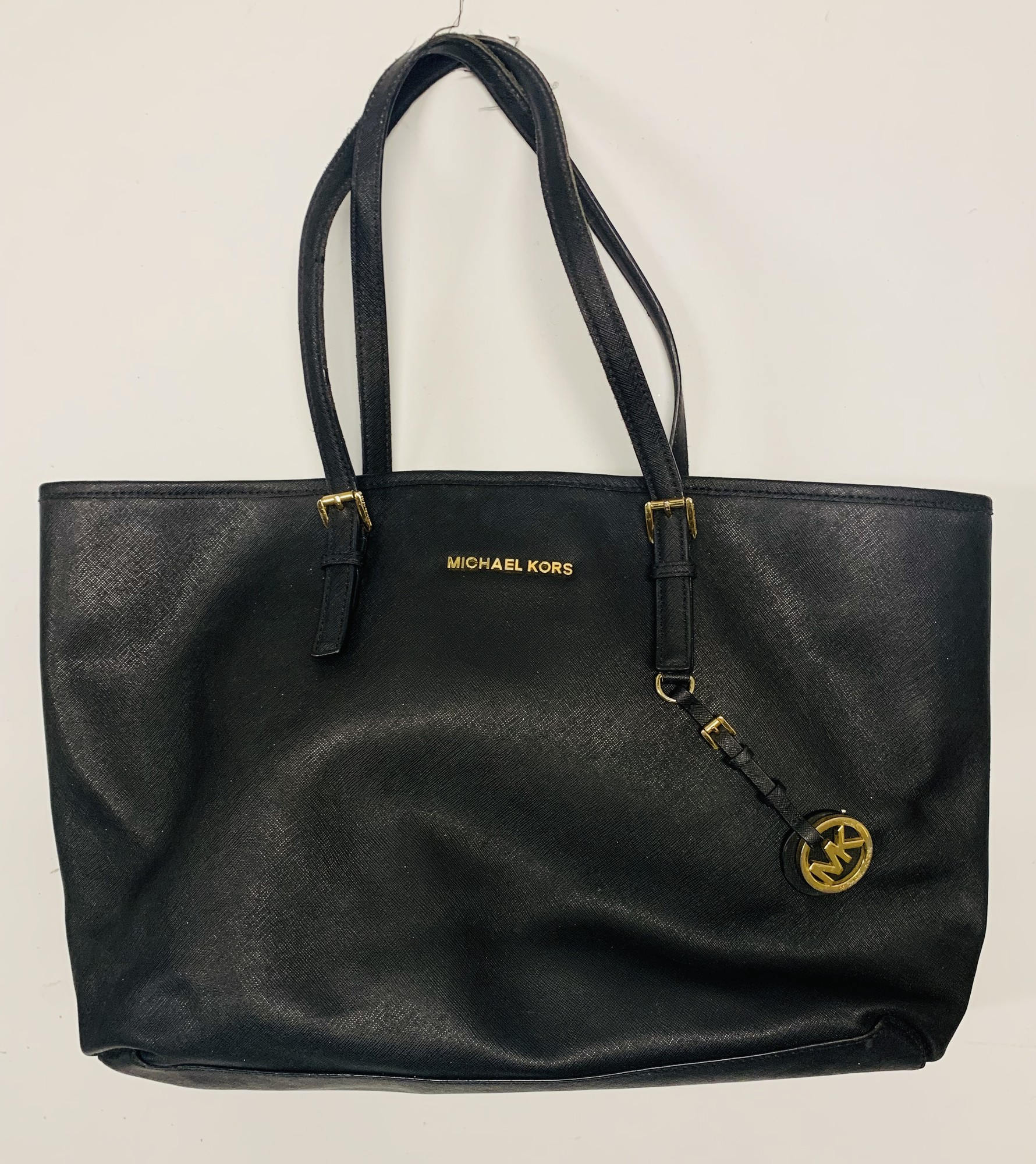 Michael Kors Tote Bag, Black, Size: None