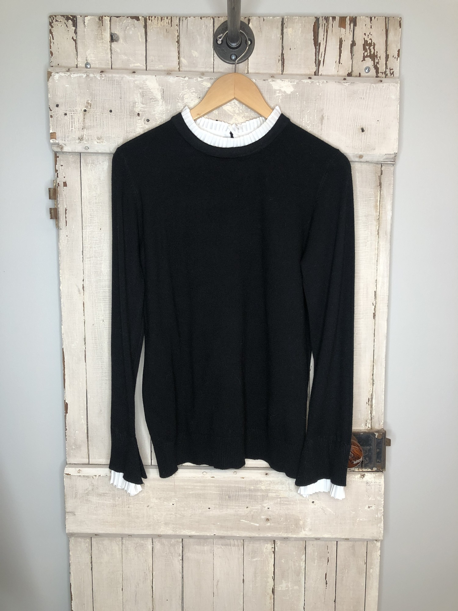 Sweater Vila Milano, Black, Size: Medium