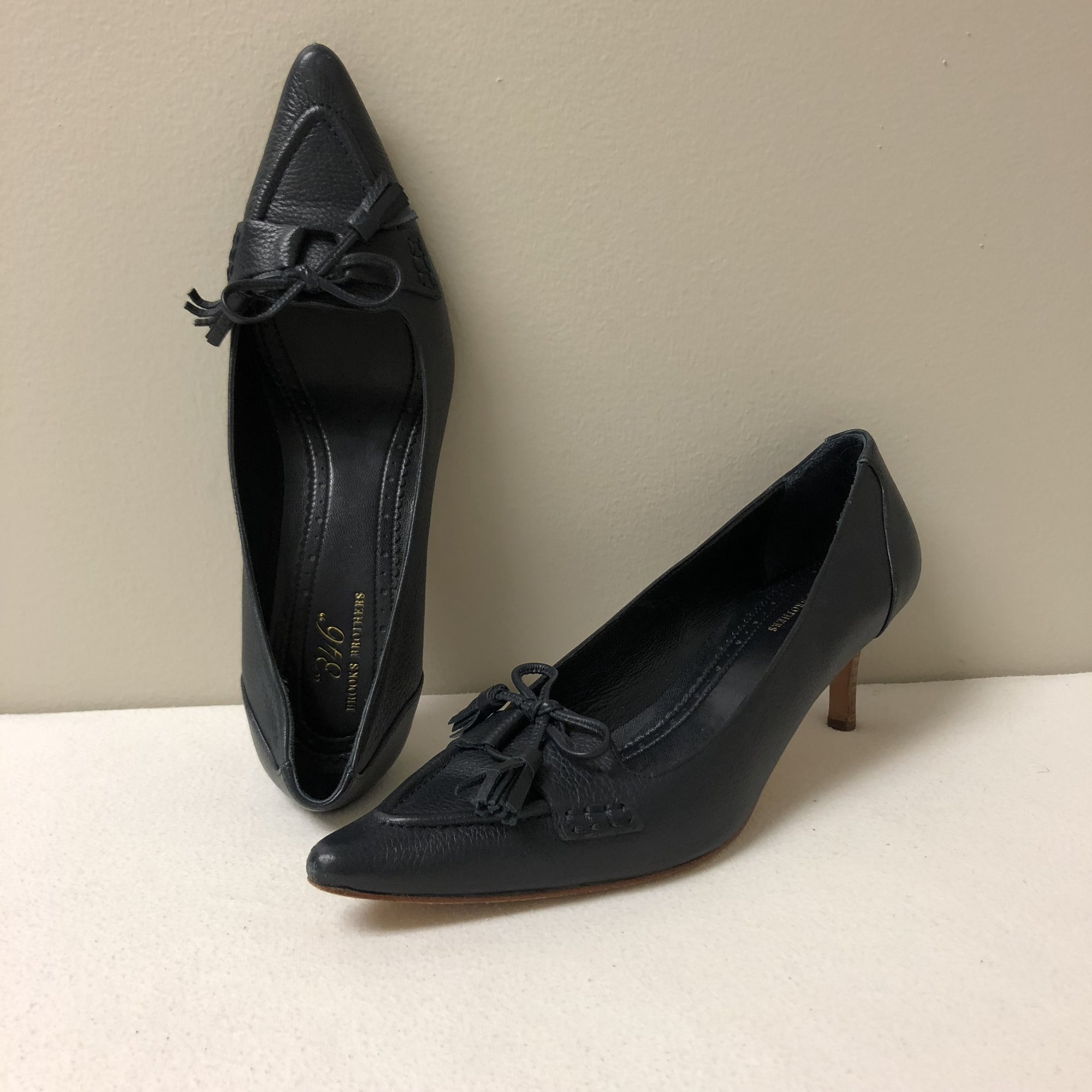 fa1ed0dff Brooks Brothers Loafer Pump br    Size 8 br ...