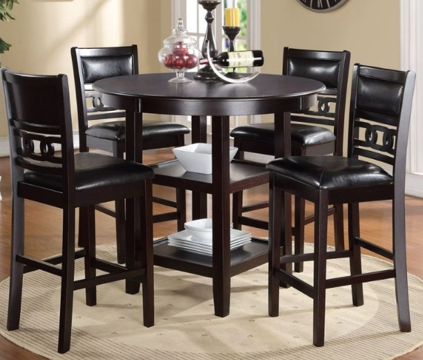 5 Pc Gia Pub Dining Set Going Twice