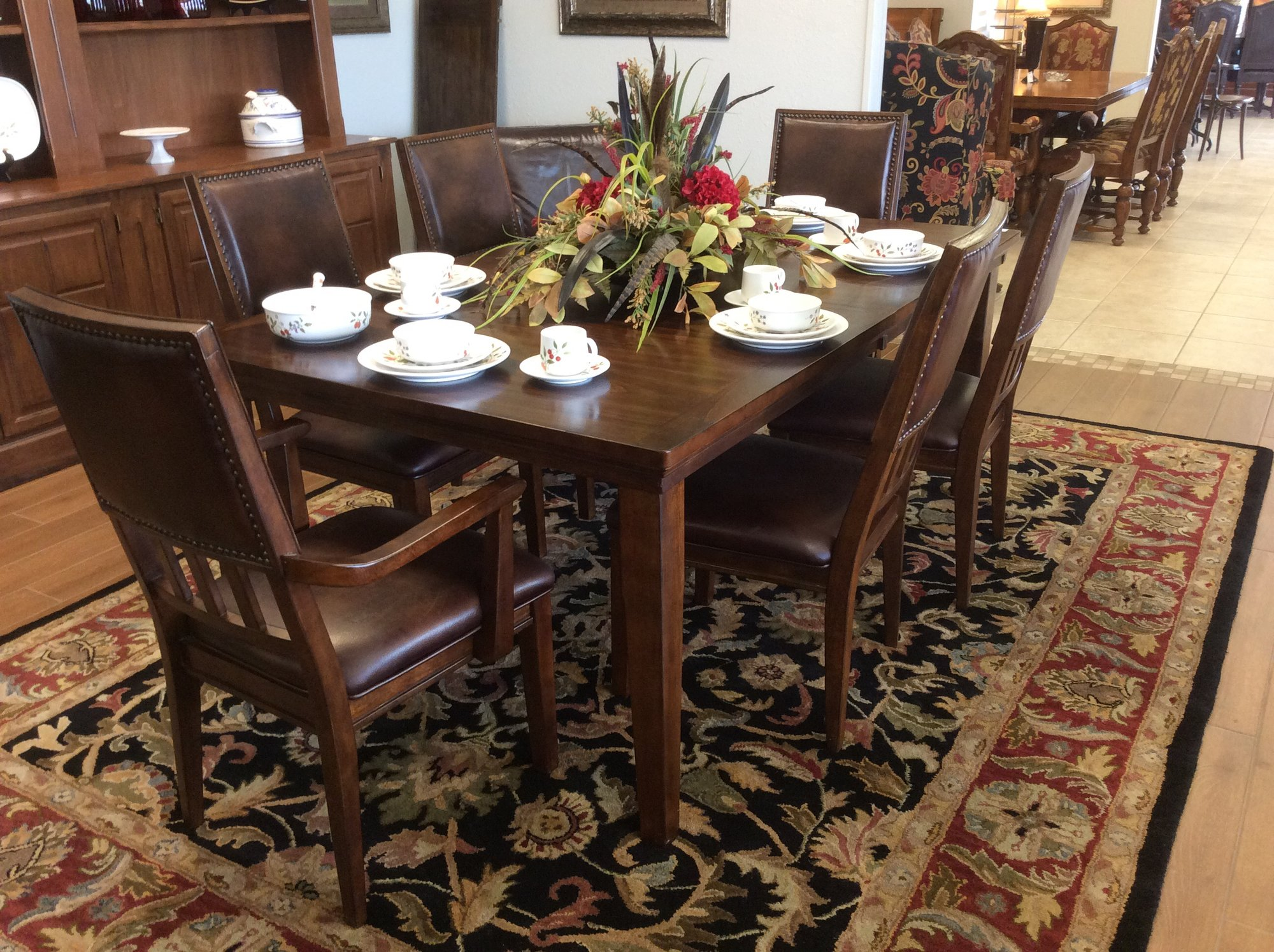 Ashley Dining Tbl W6 Cha Riverbridge Resale Consignment